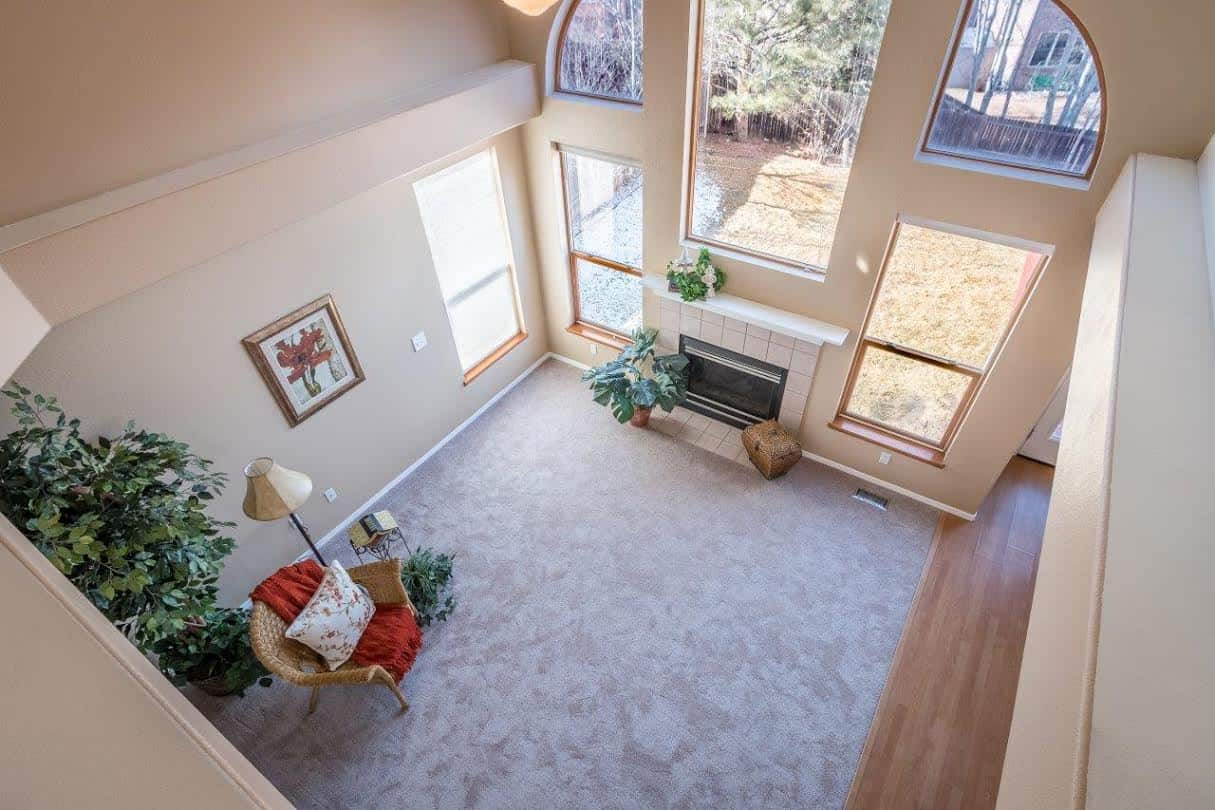 Family Room from Upper Level