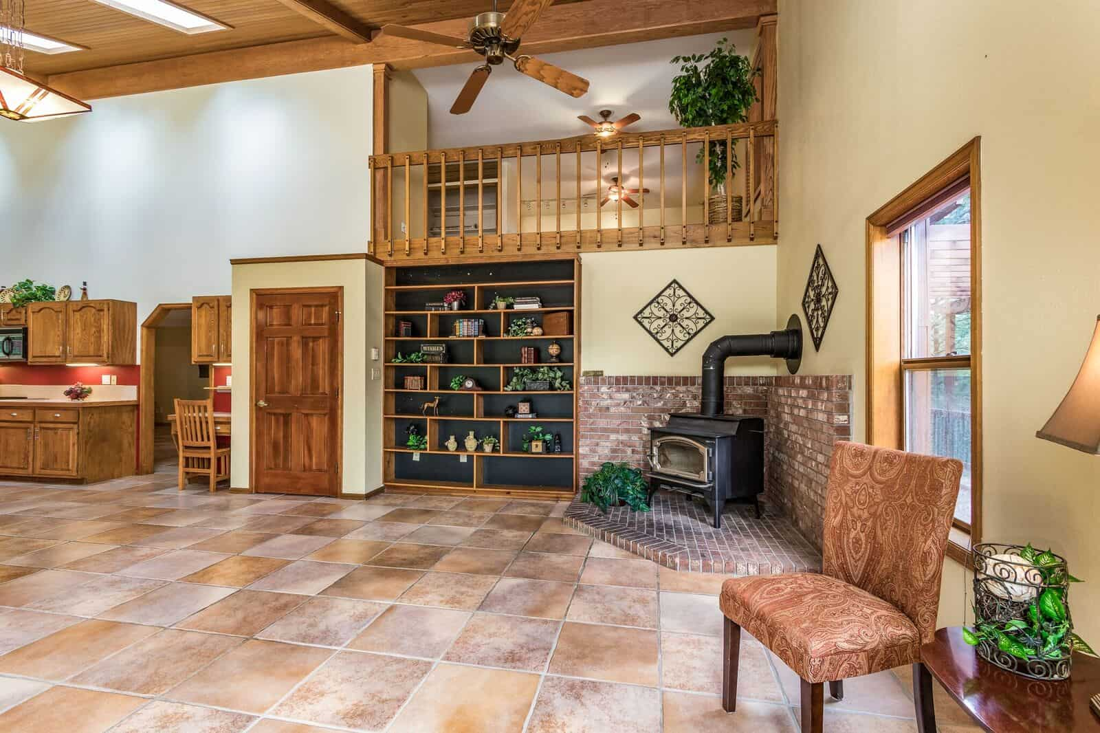 Family Room and Loft