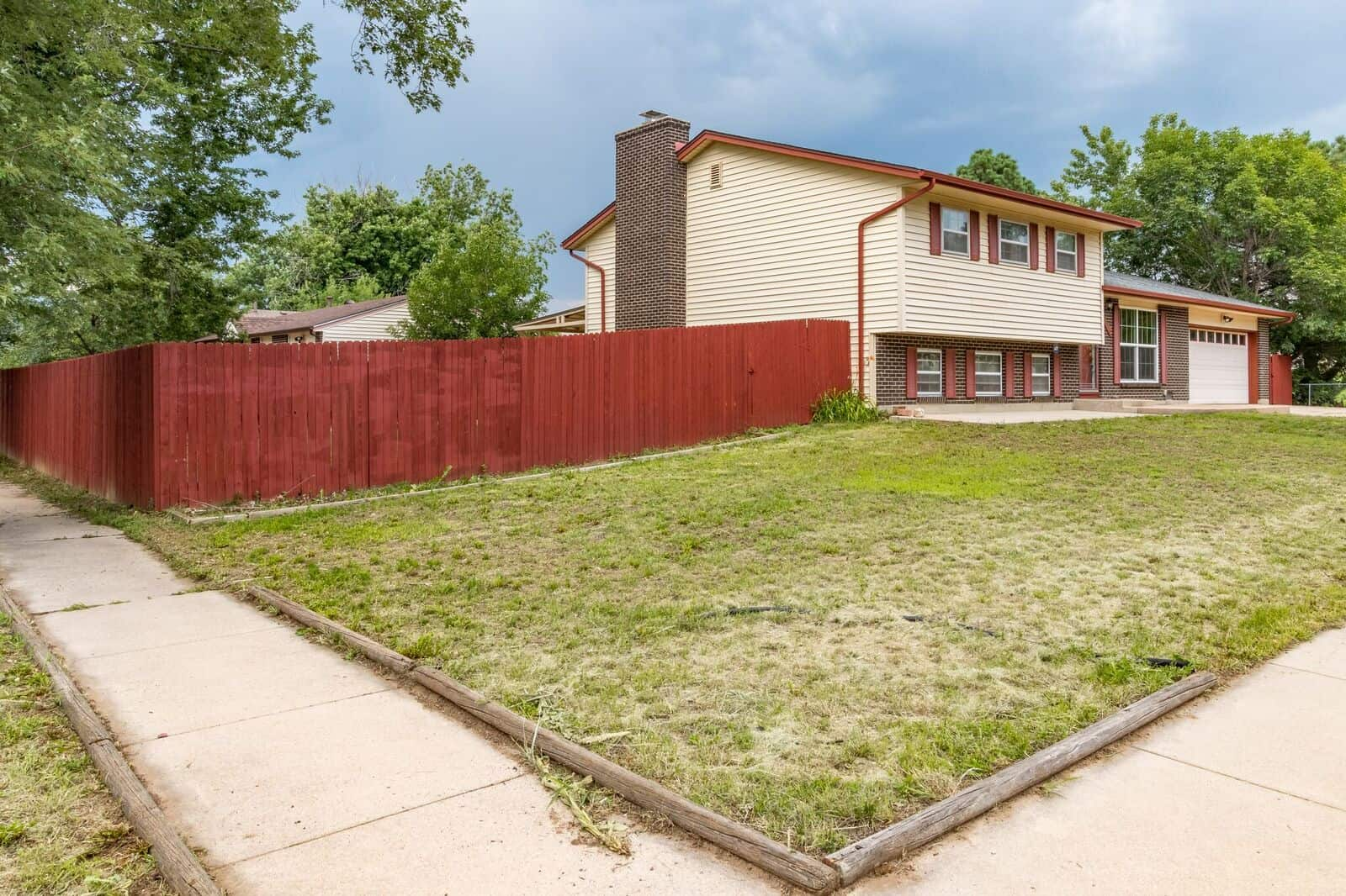 Large Corner Lot with Fenced Yard