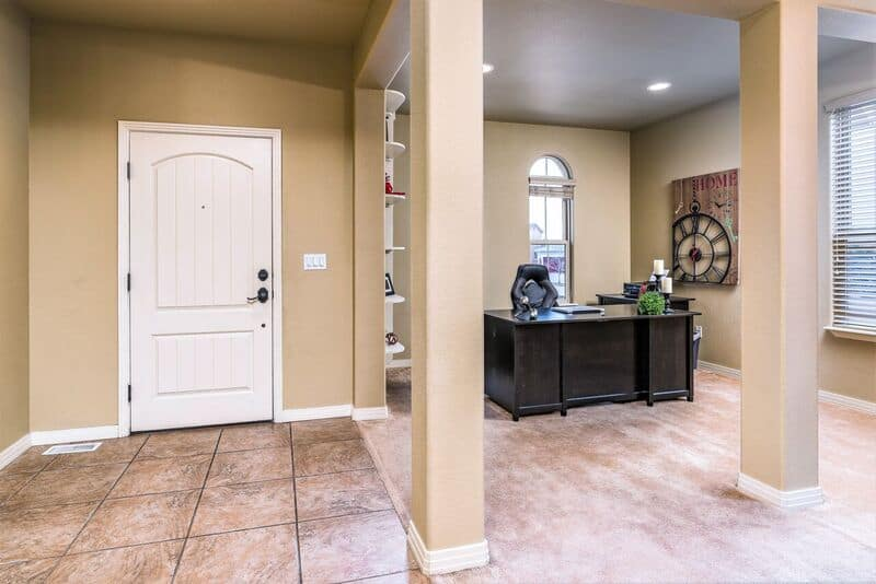 Entry, Living Room