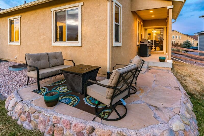 Back Patio from Walk-Out Nook