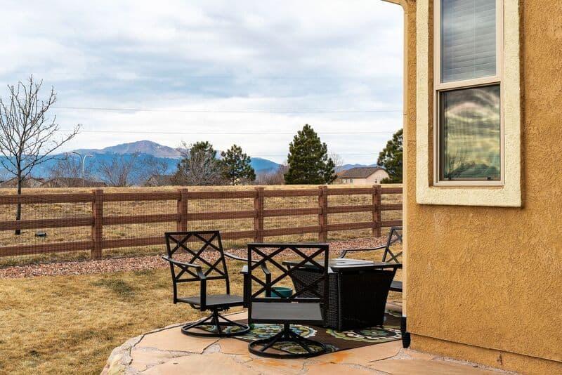 Peak Views from Backyard