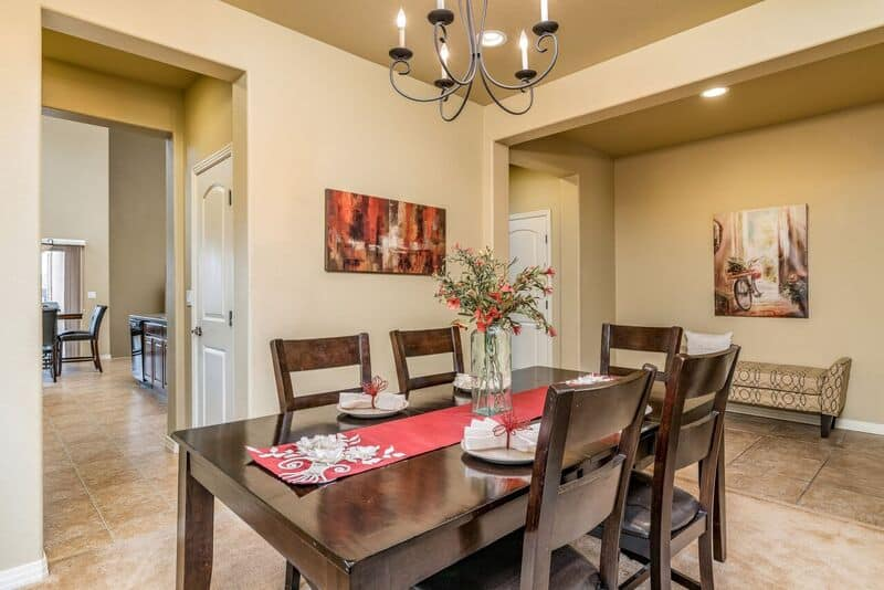 Dining Room into Butler and Walk-In Pantry
