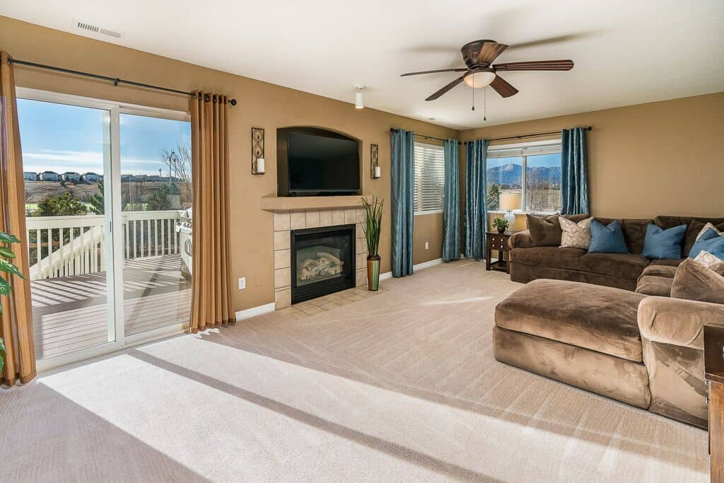 Walk-Out Family Room