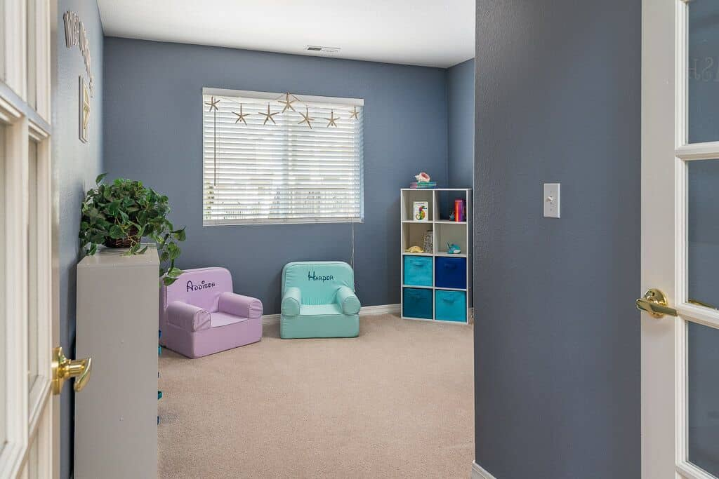 Office (currently a playroom)