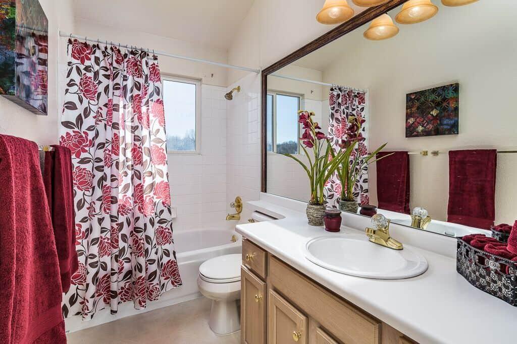 Upper Full Hall Bathroom