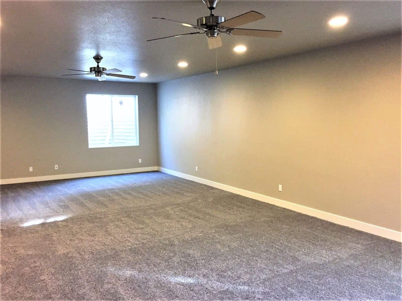 Huge Basement Rec Room with 9ft Ceilings