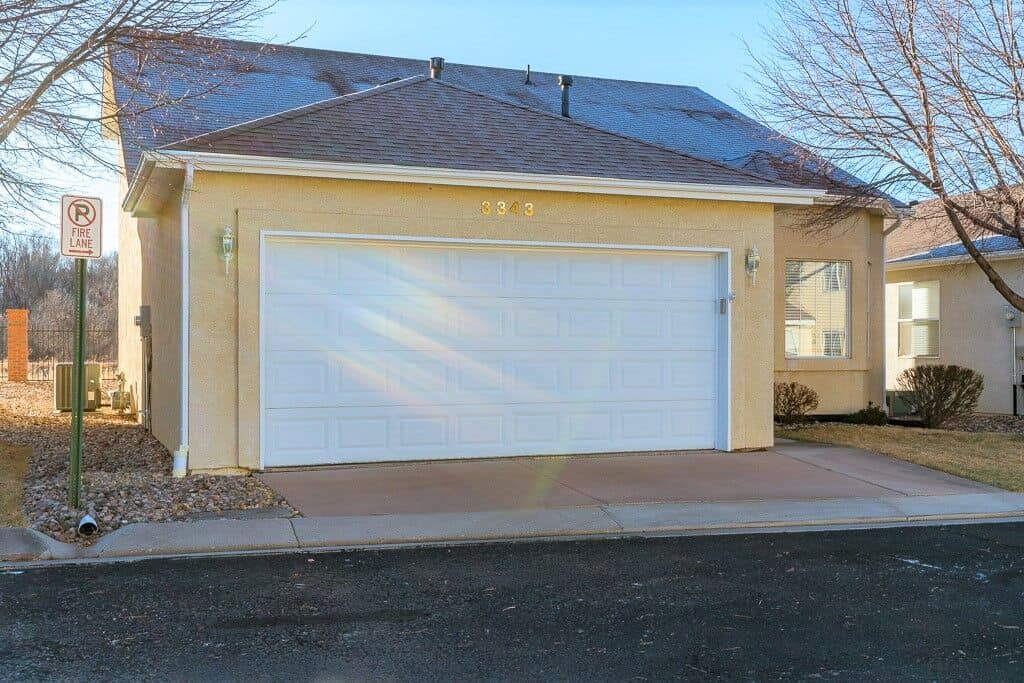 Fully Detached Stucco Patio Home with 2 Car Garage