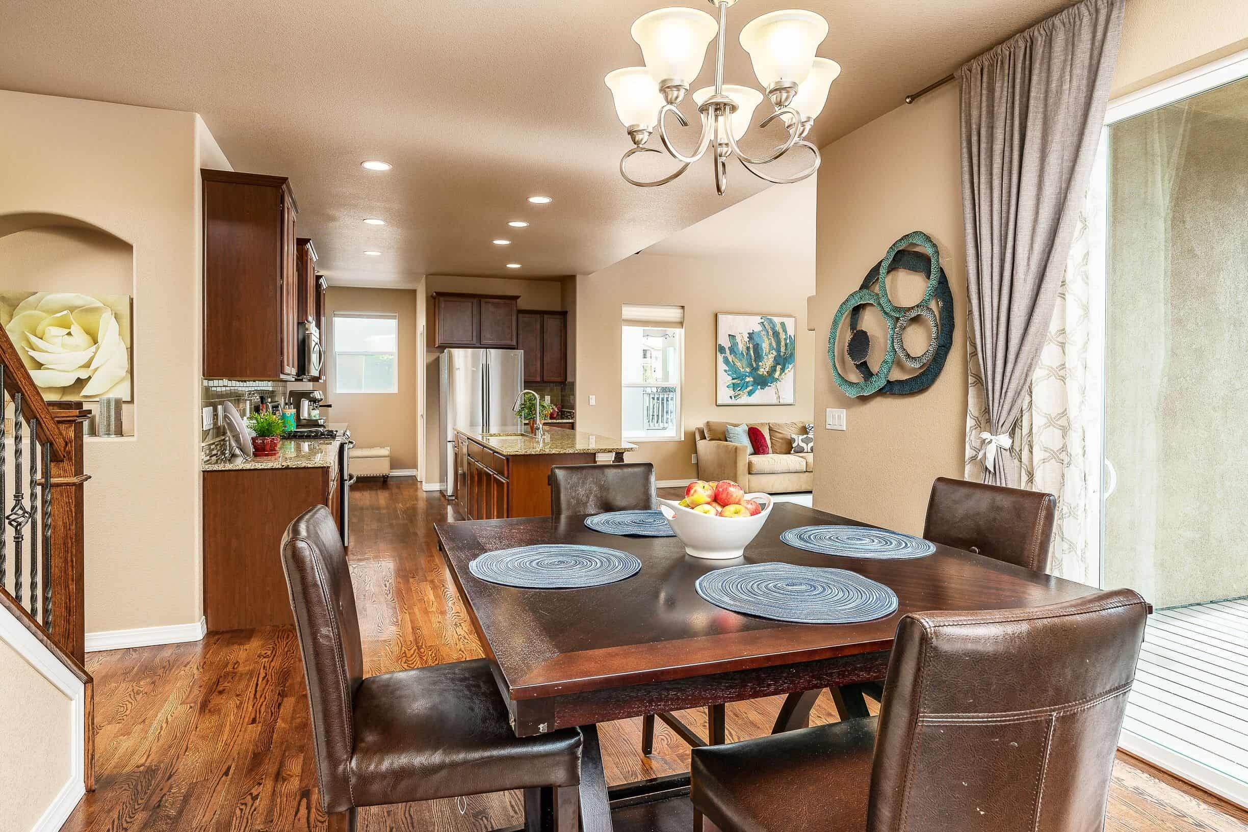 Dining Room into Kitchen