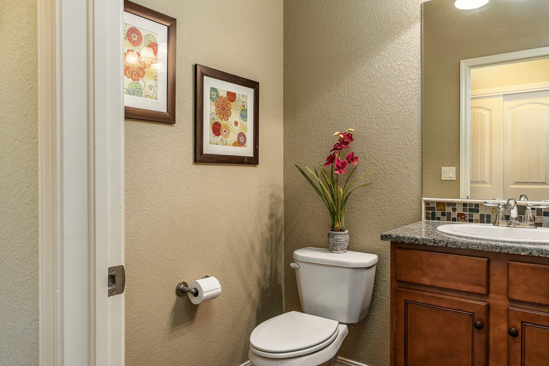 Powder Bathroom off Kitchen