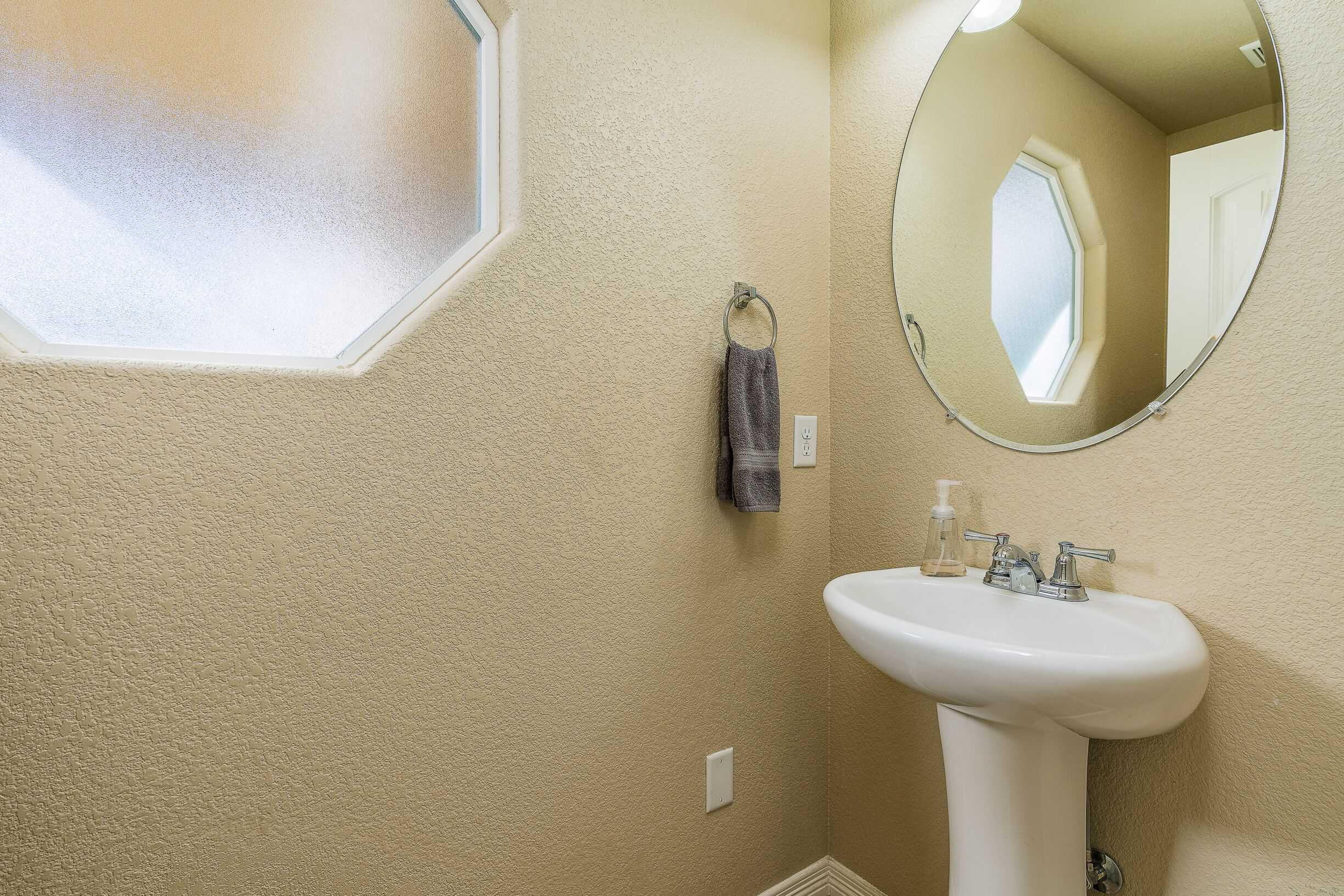 Main Level Powder Bath