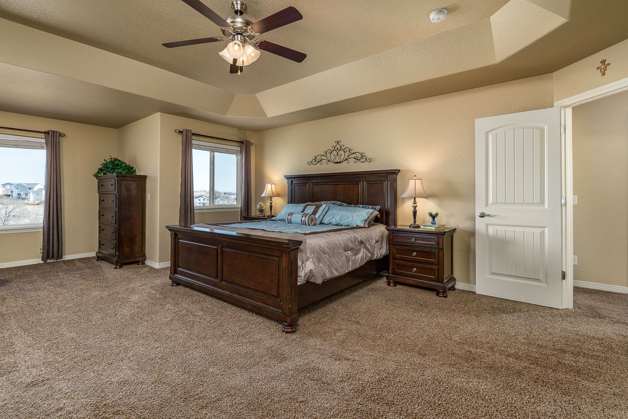 Upper Master Bedroom with Sitting Area