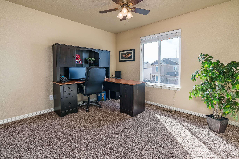 Upper Bedroom 4 used as Office
