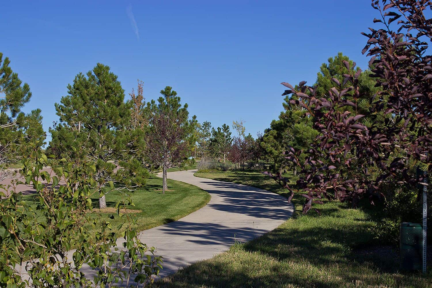 Beautifully Landscaped Trails