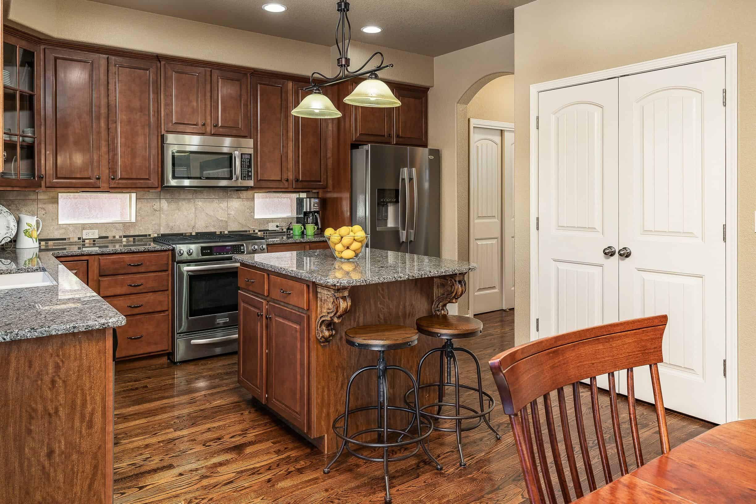 Gourmet Island Kitchen and Pantry