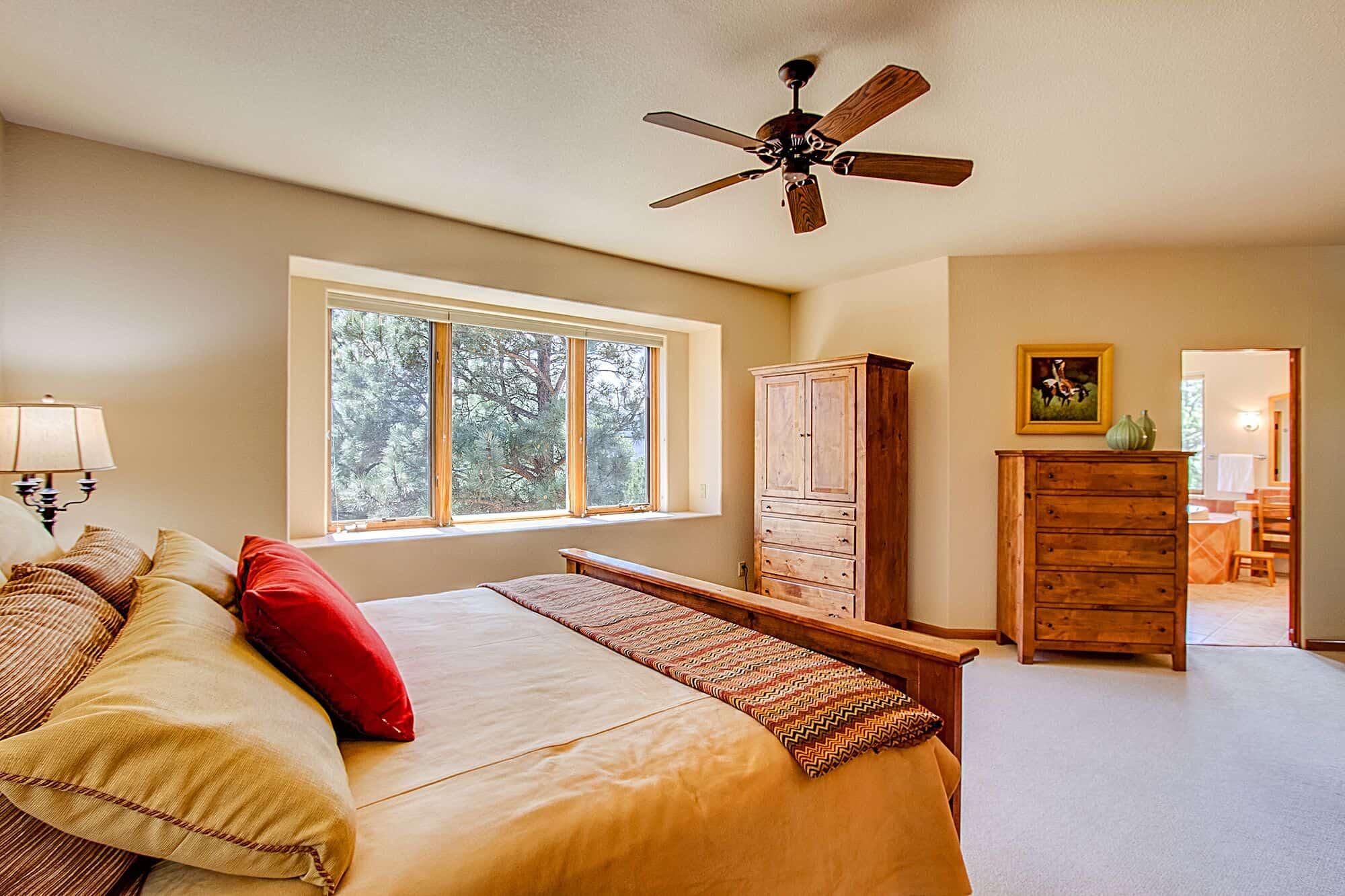 Master Bedroom into Spa Master Bathroom