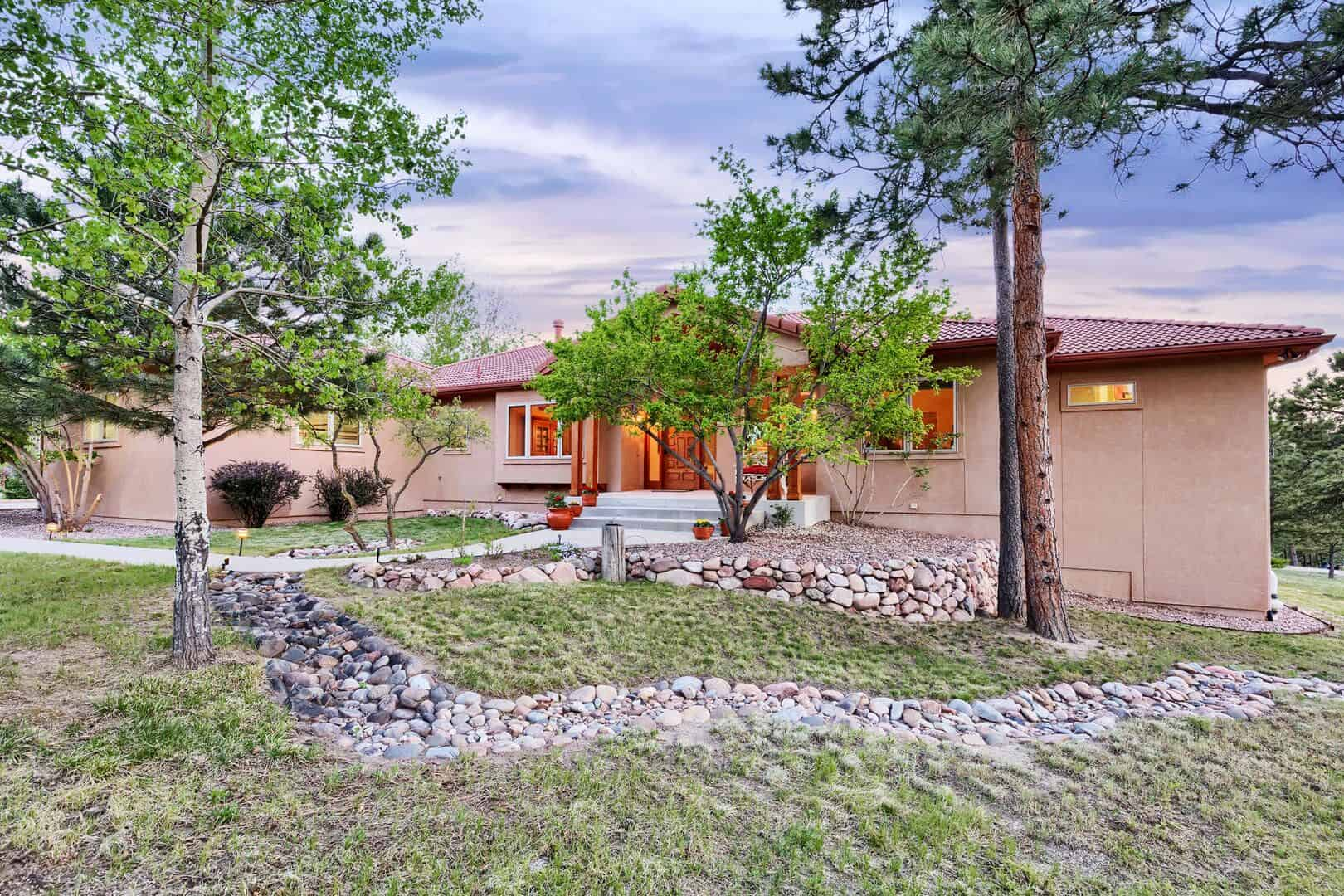 Beautifully Landscaped and Fire Mitigated Lot