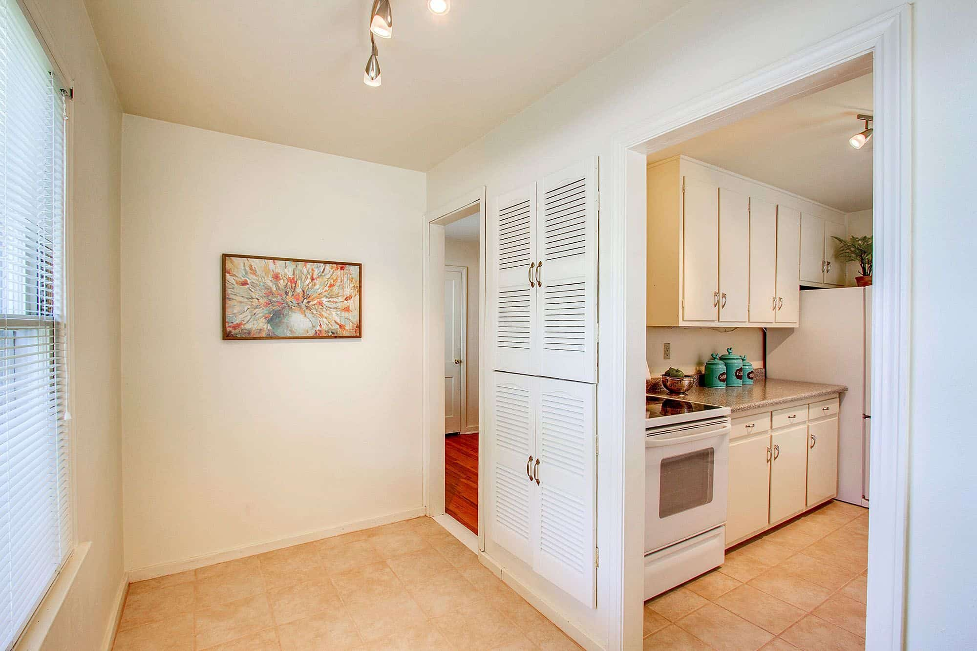 Pantry Cabinet in Mud Room off Kitchen