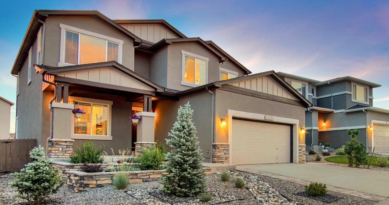 Stunning 2-Story Stucco Cordera Home