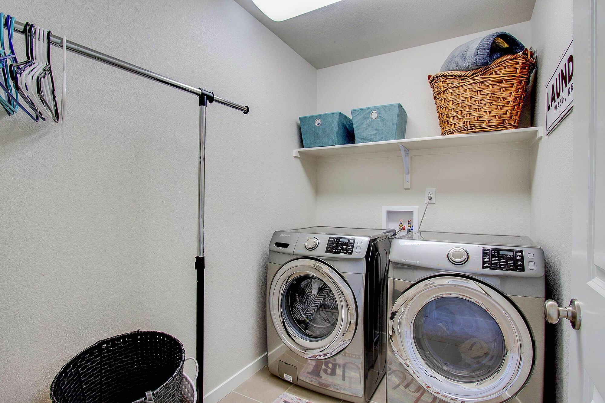 Upper Level Laundry with Washer and Dryer included