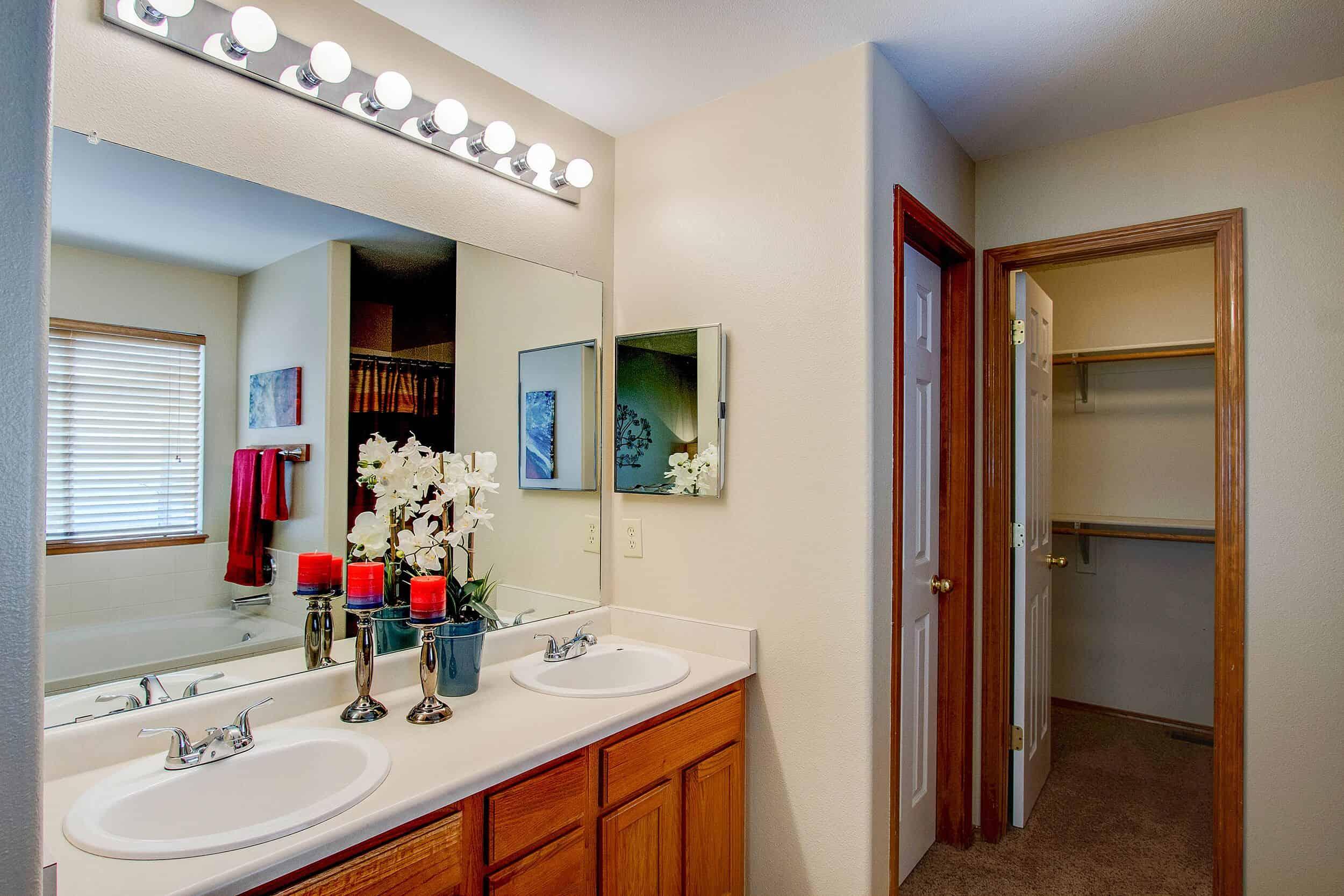 Master Bathroom and Walk-In Closet