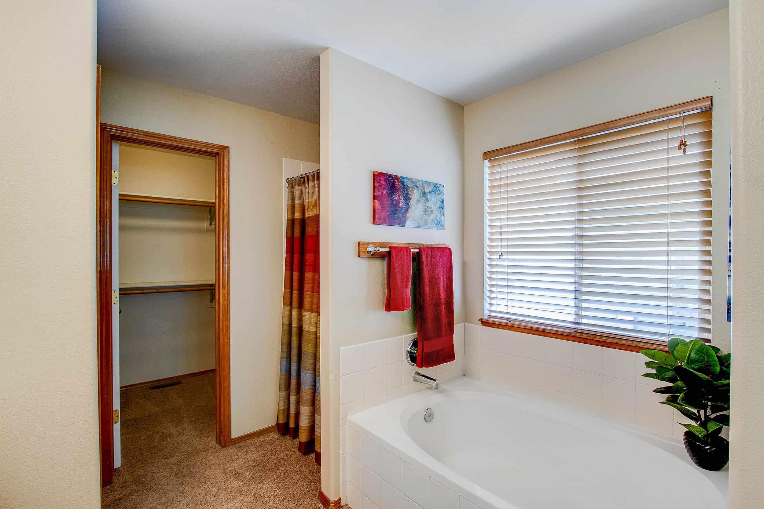 5pc Master Bathroom with Soaking Tub