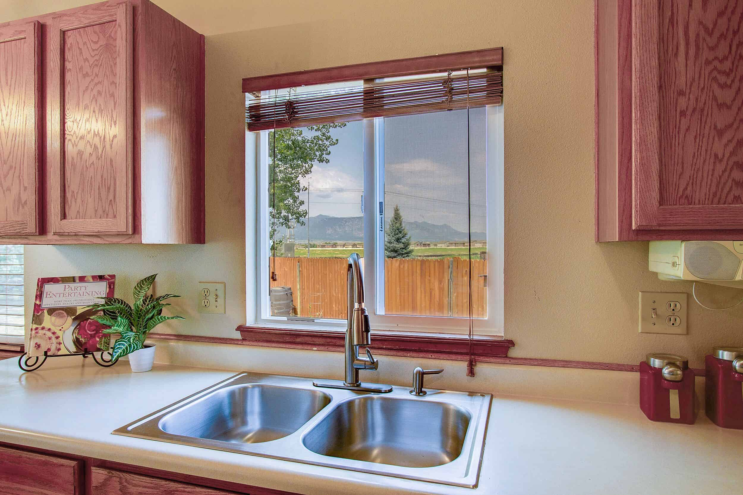 Mountain Views from Sink