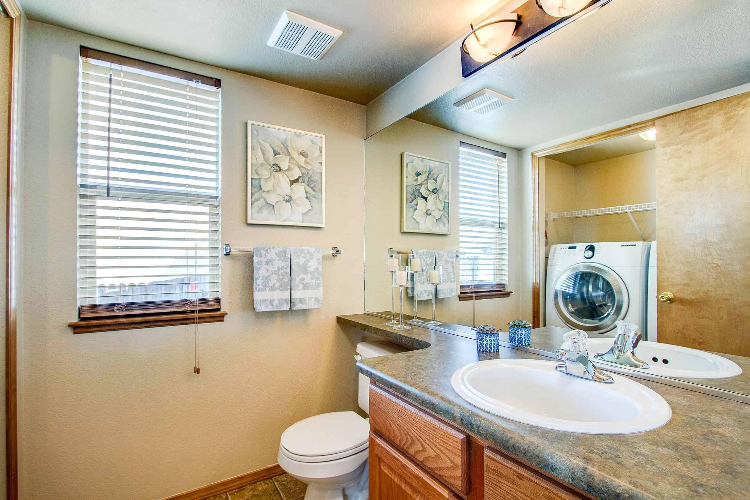 Laundry and Powder Bath