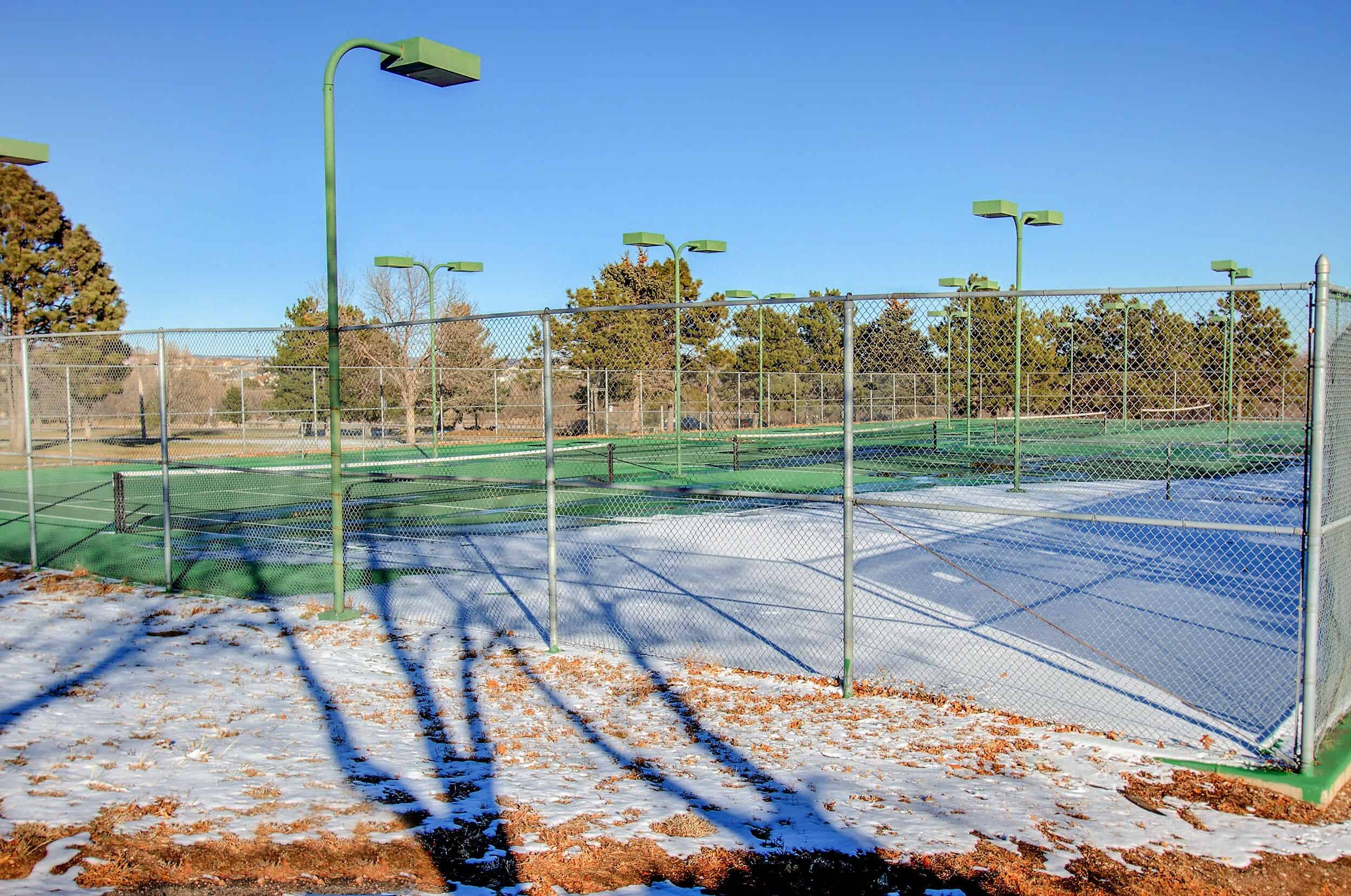 Tennis Courts at Nearby Park