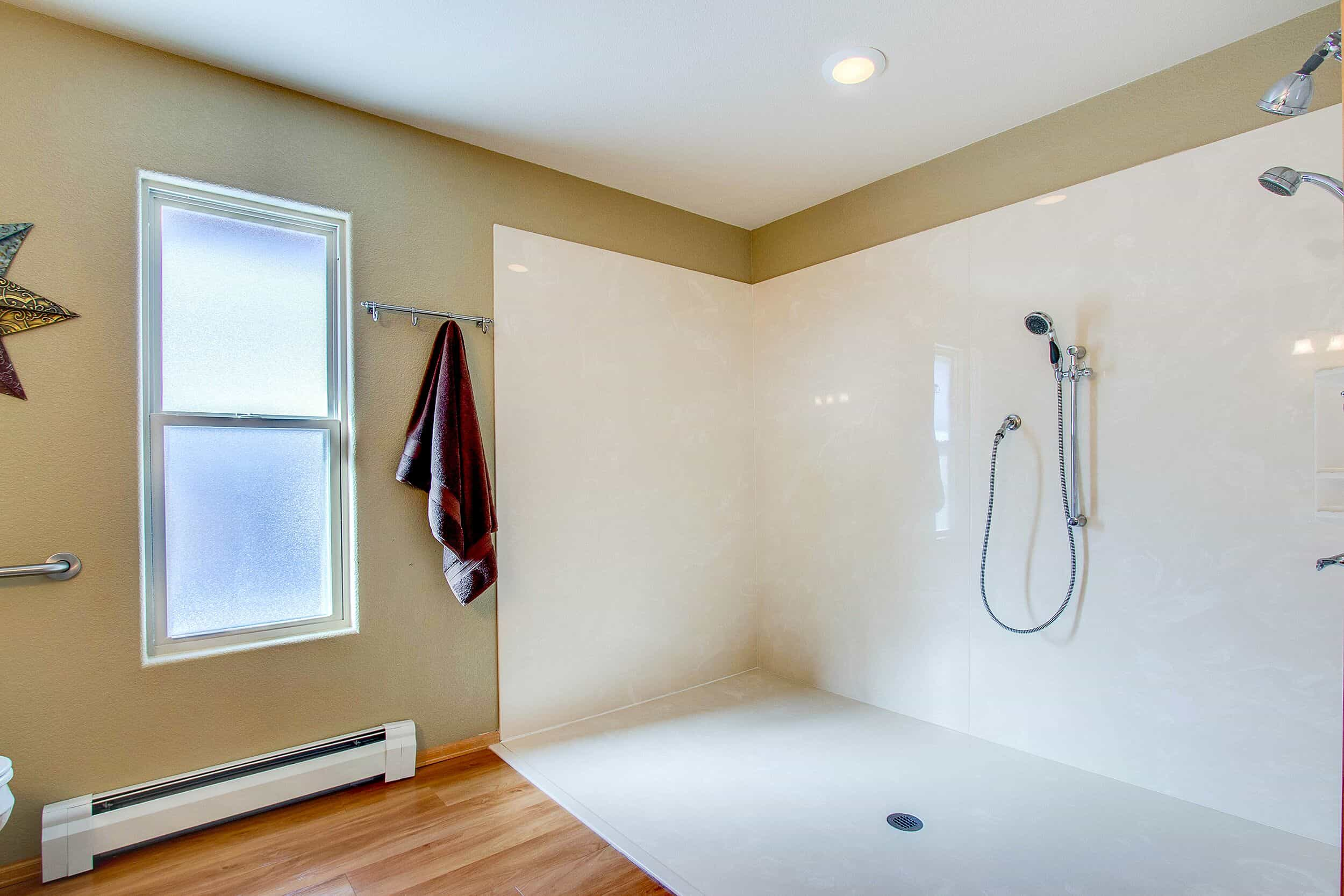 Accessible Master Shower