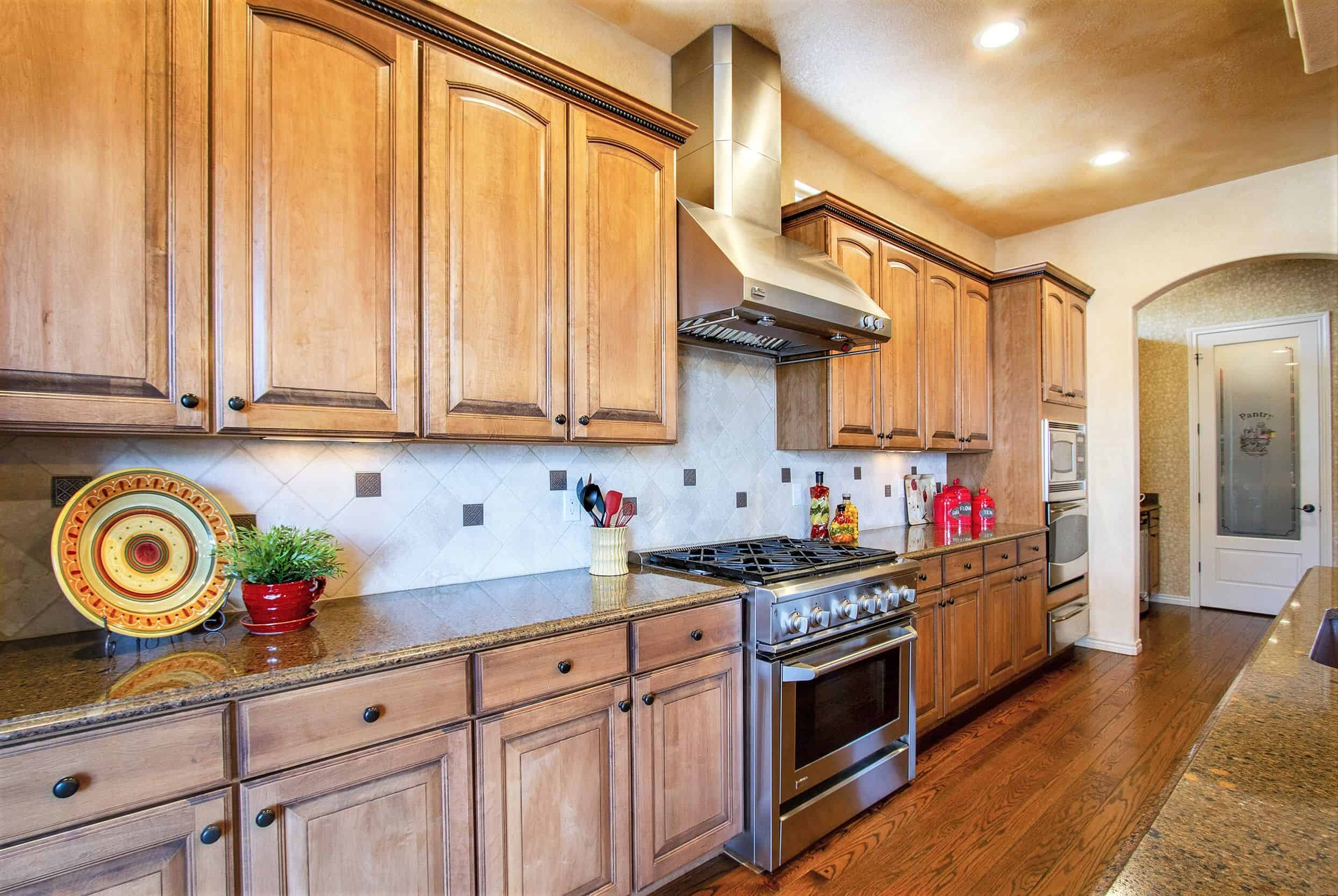 Gourmet Island Kitchen with Access to Butlers Pantry