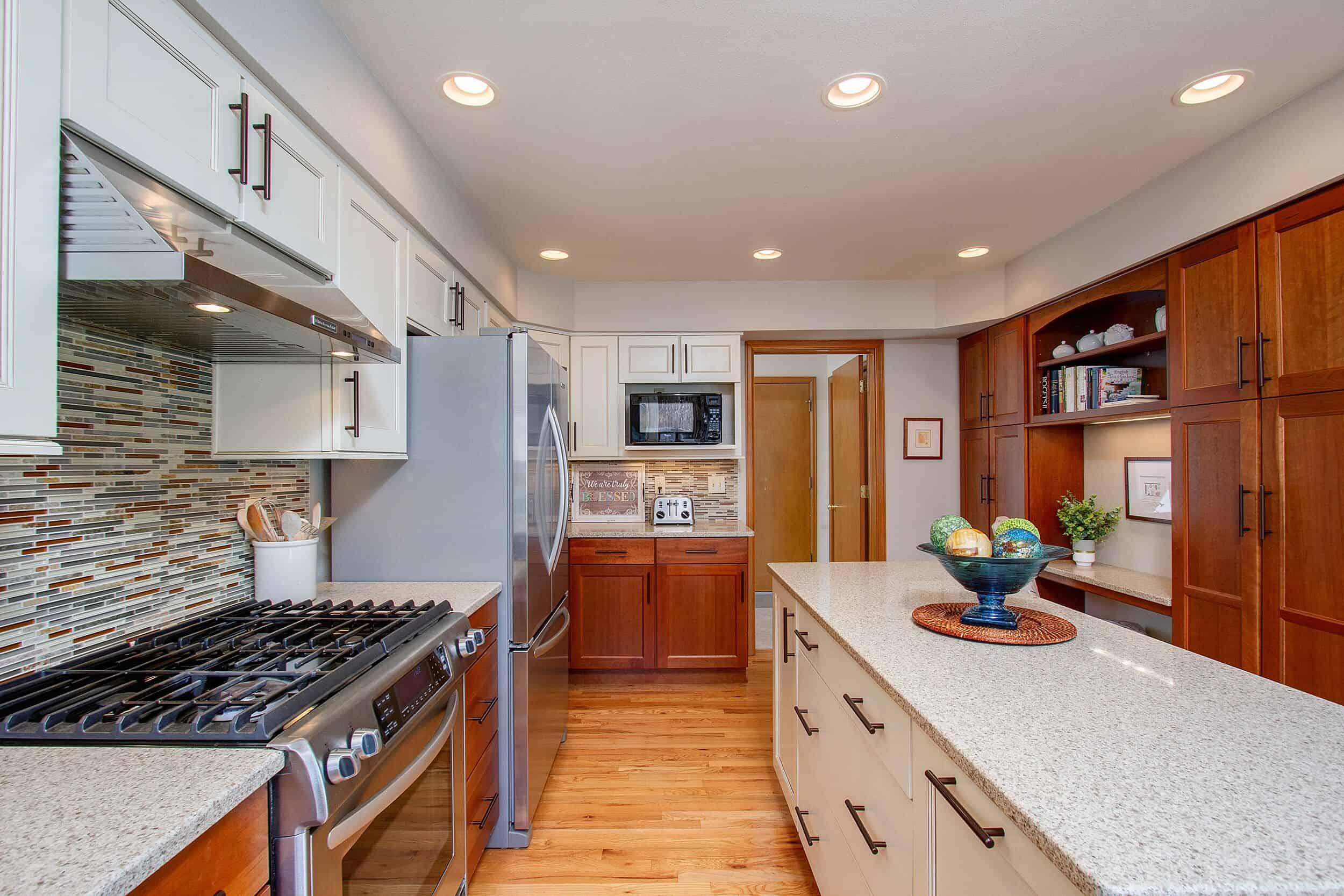 Kitchen with Planning Desk