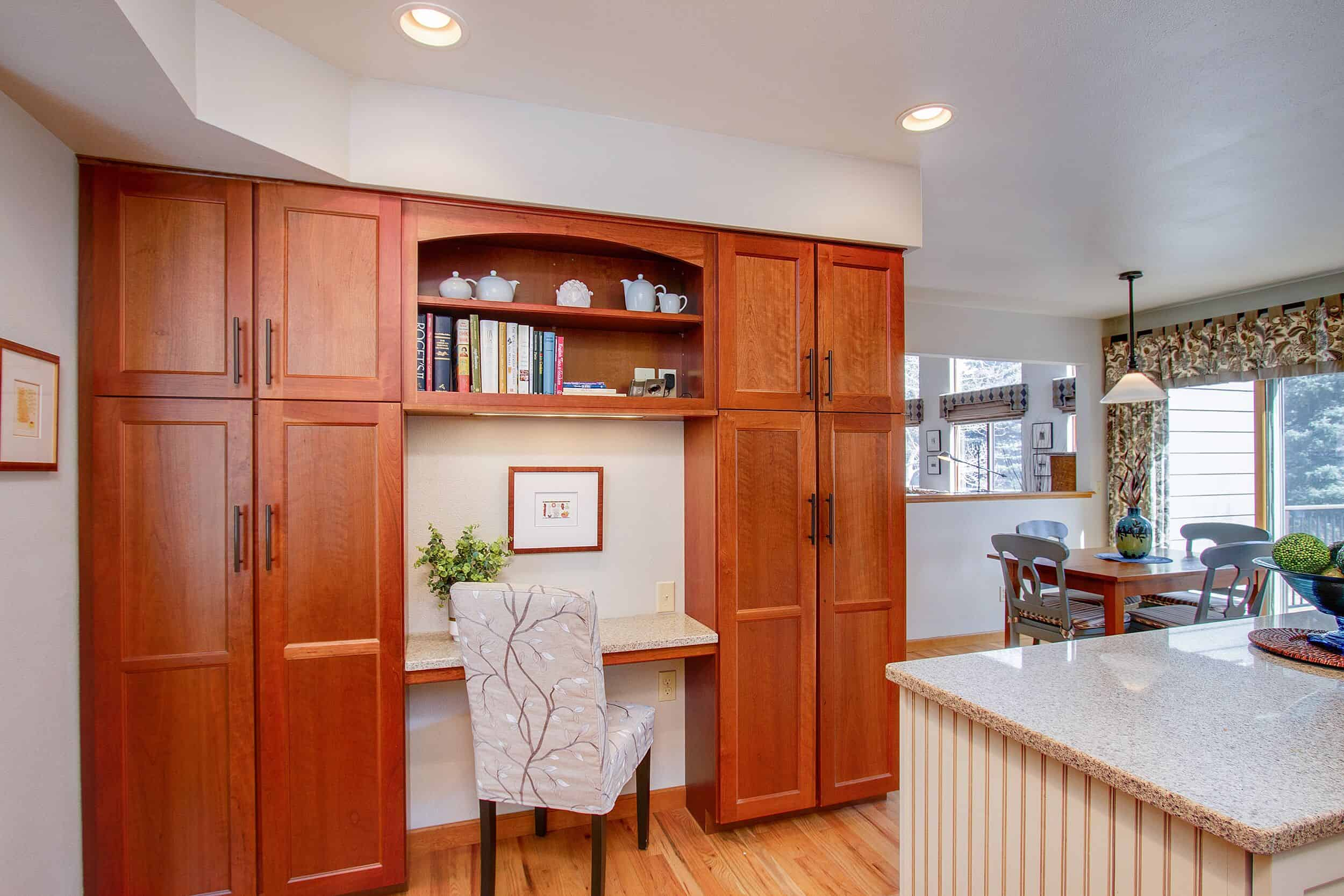 Planning Desk and Pantry