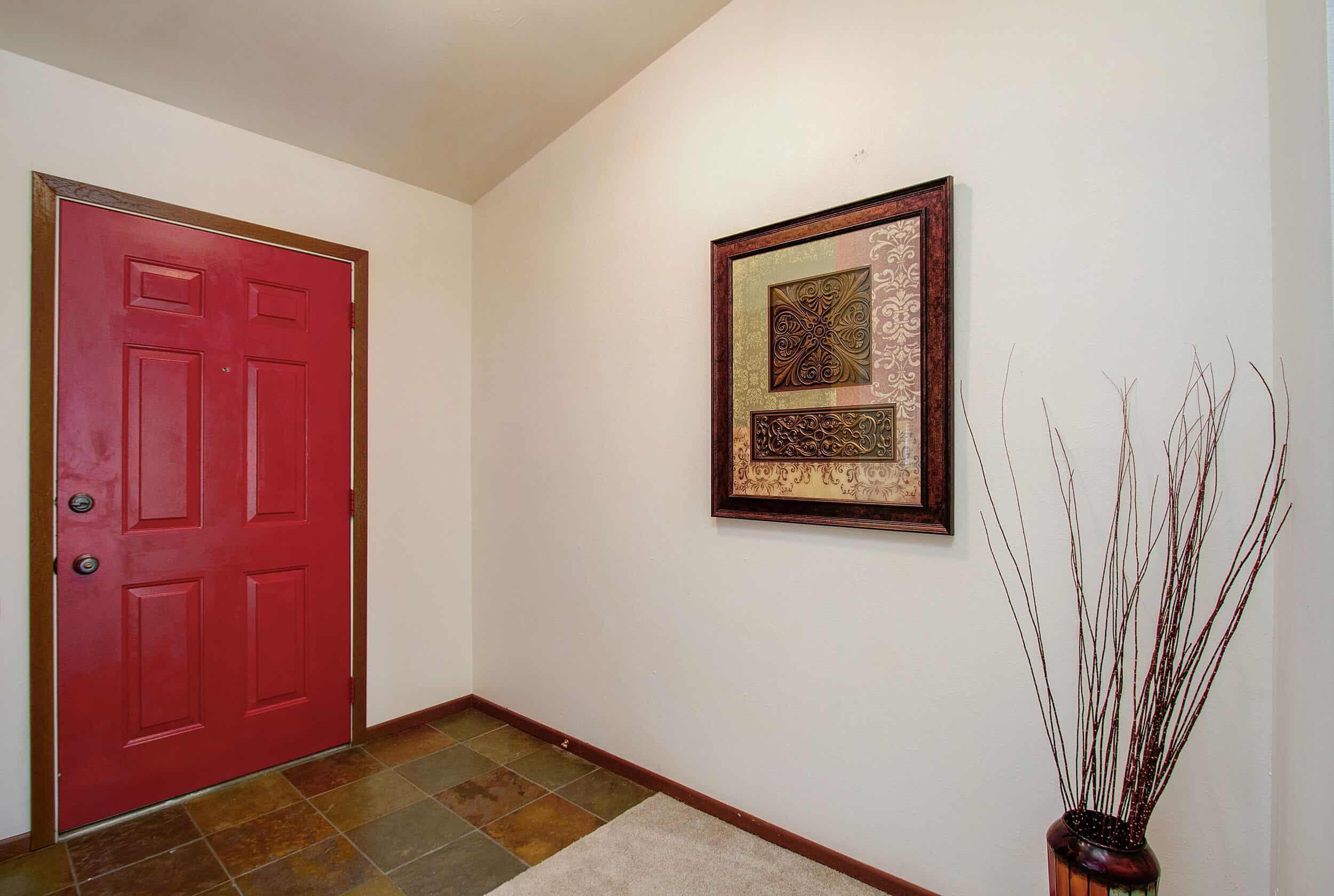 Slate Tile Entry