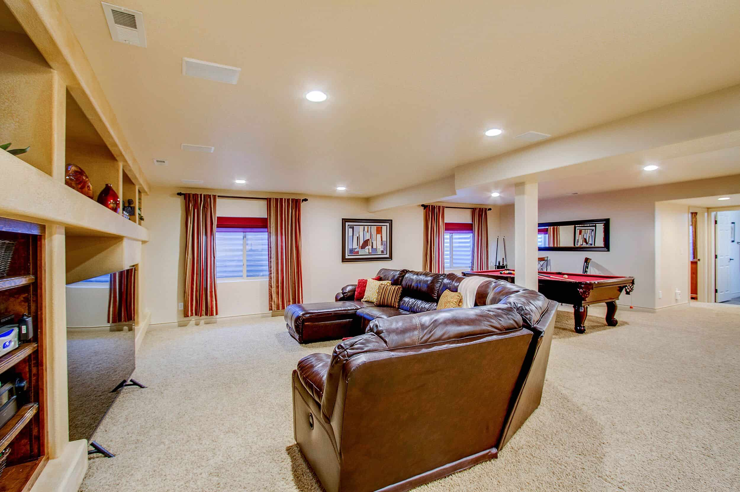 Family Room and Game Area