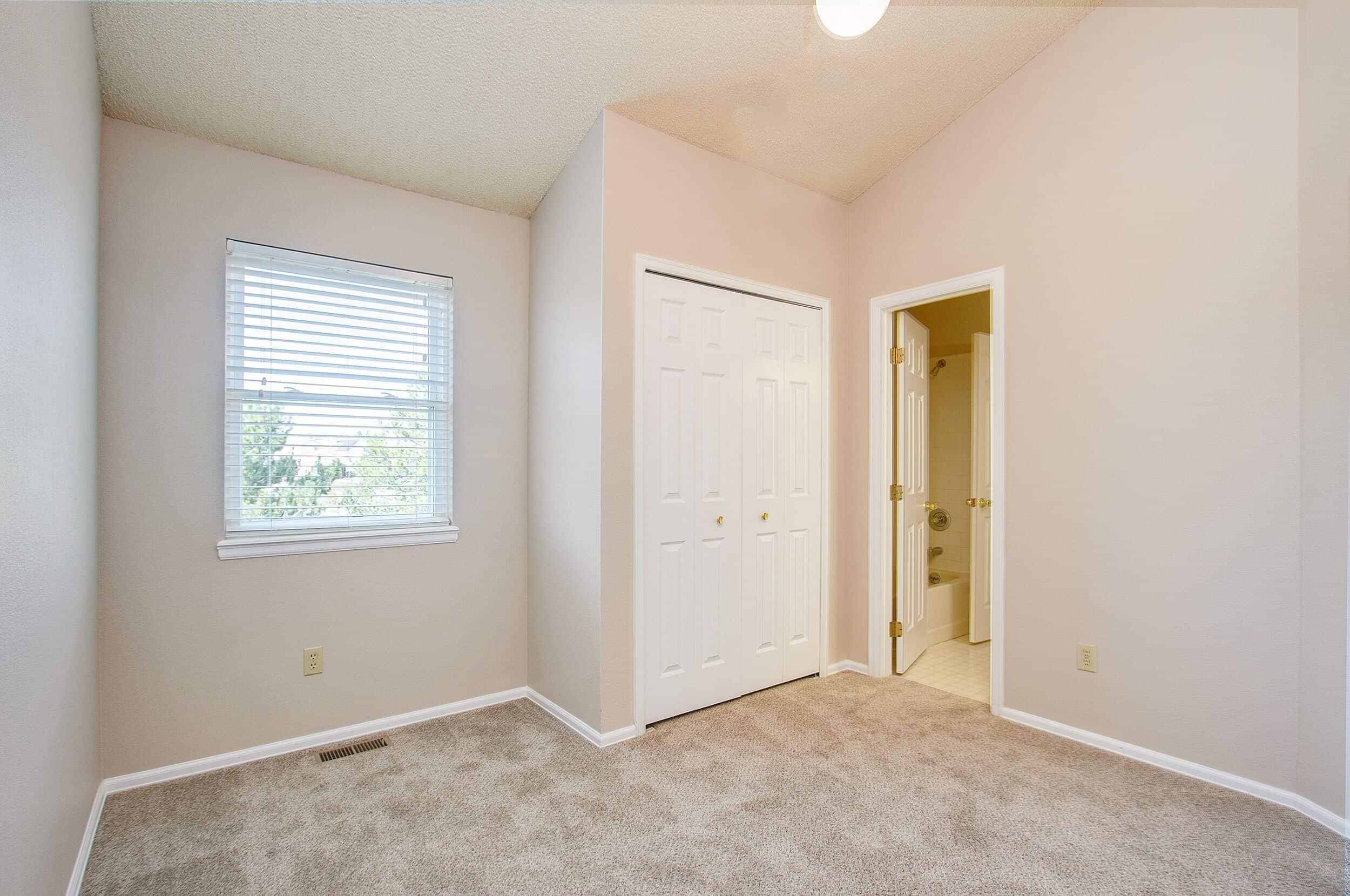 Vaulted Bedroom 2 with Jack N Jill Bathroom