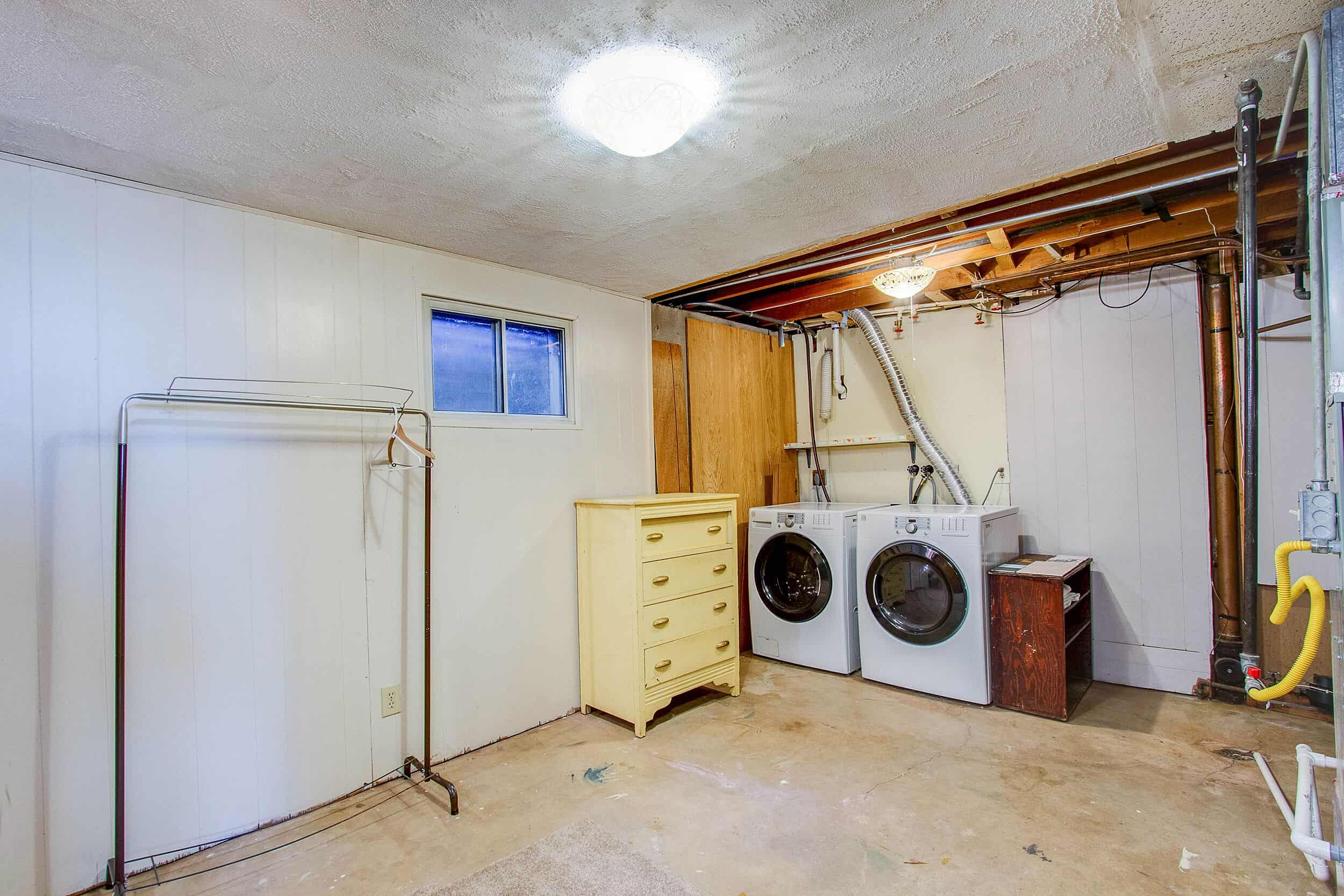 Laundry and Storage Room