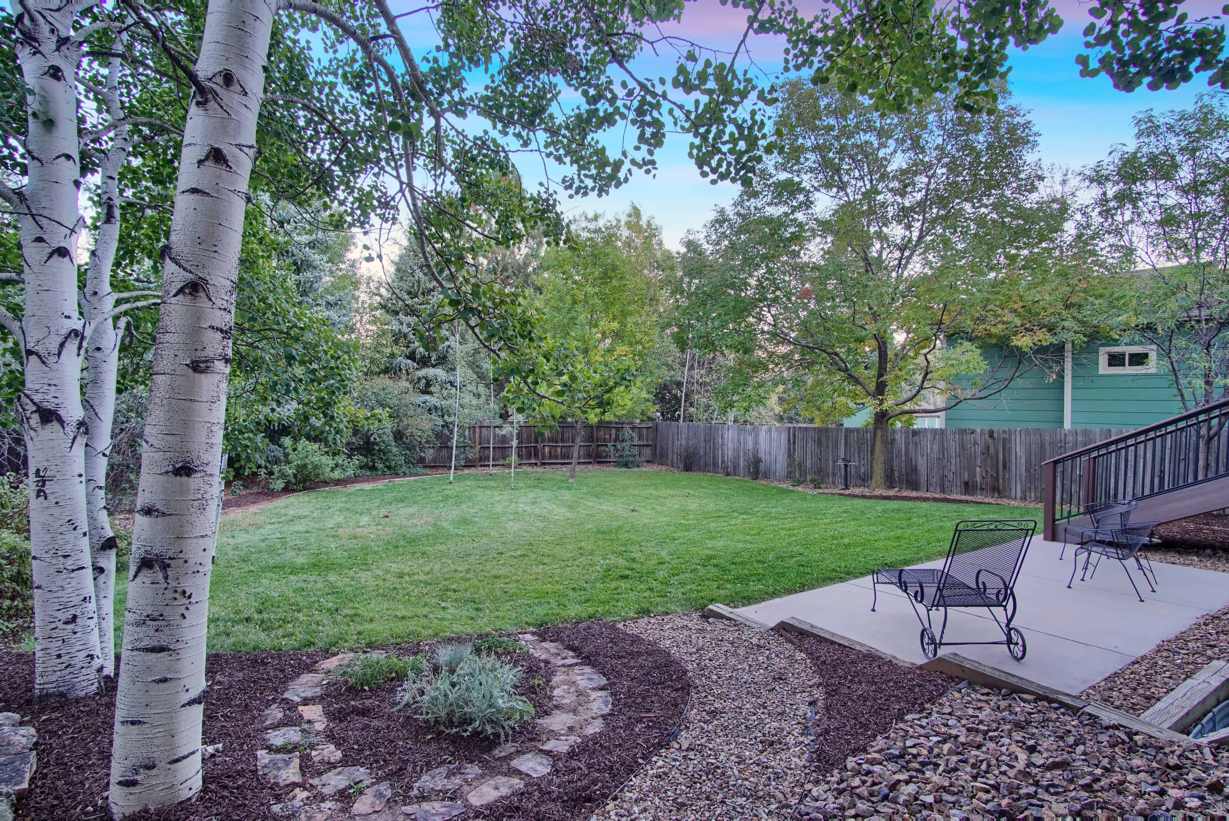 Fenced Private Lot