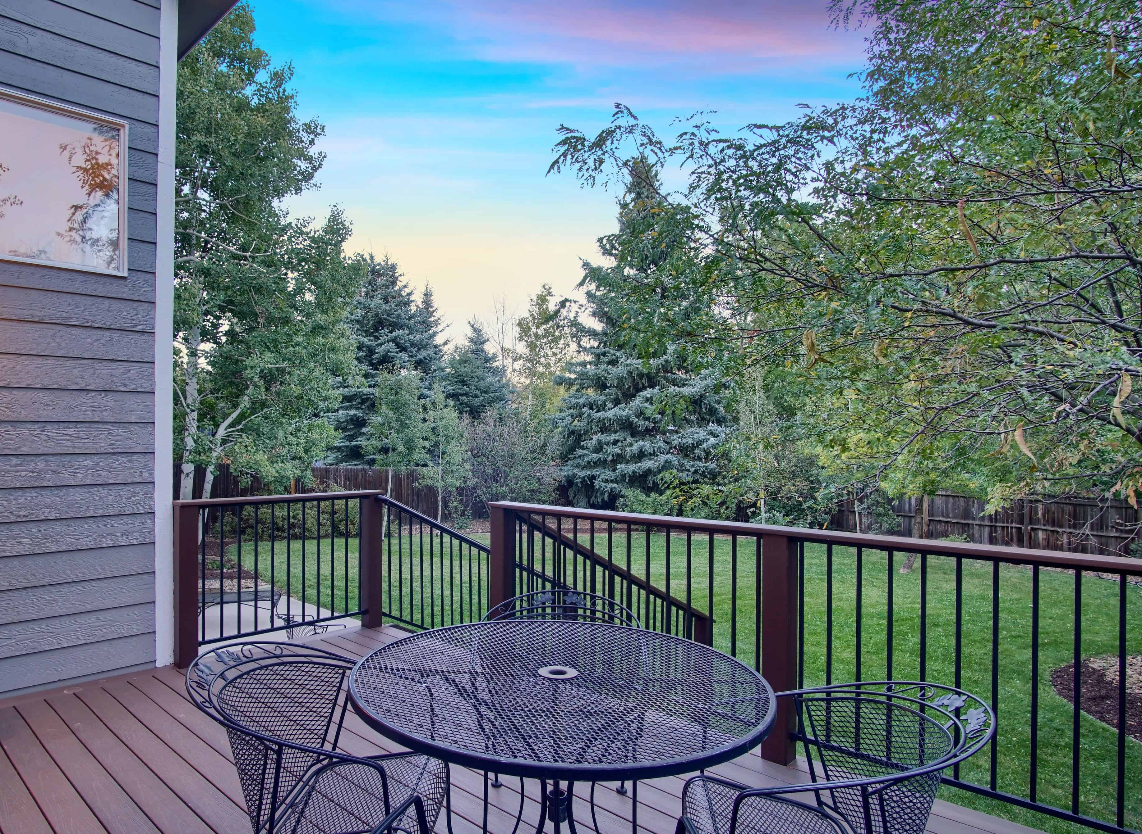 Private Lot with Mature Trees and Landscaping