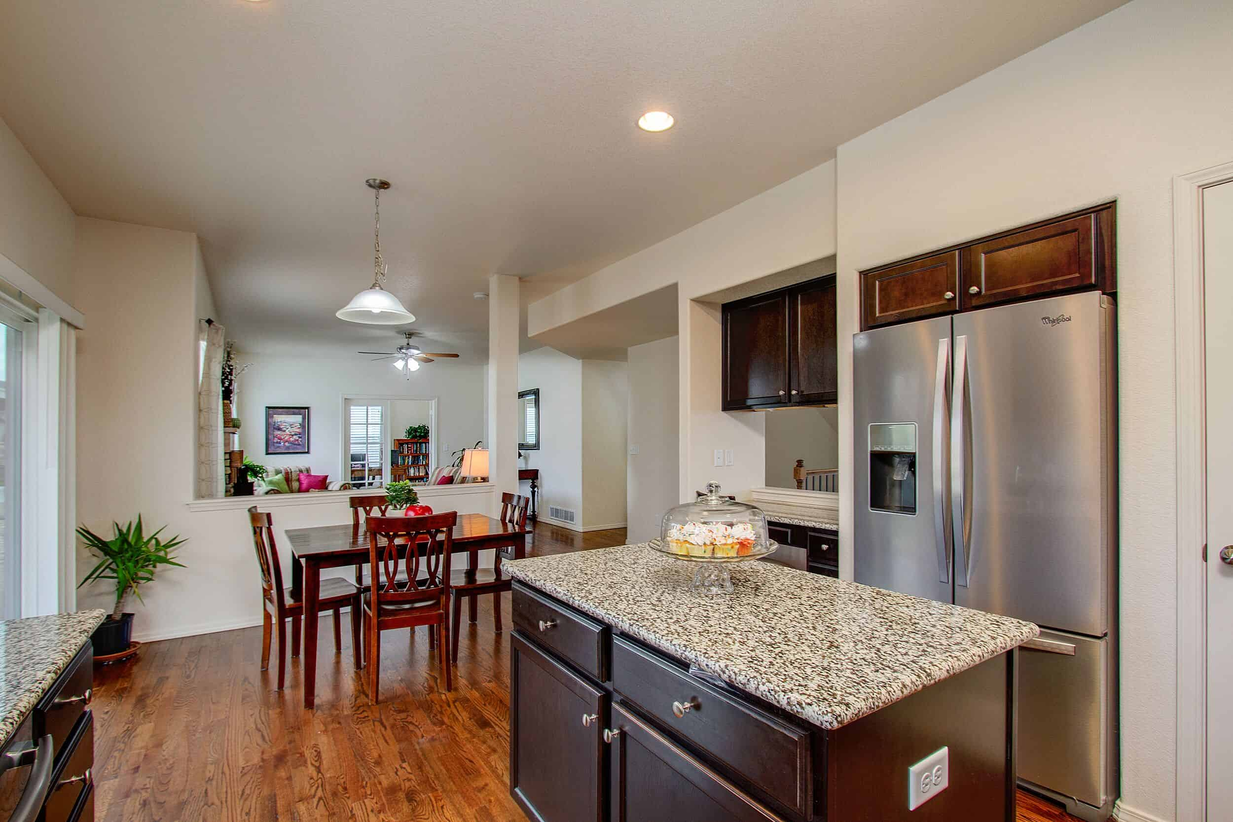 Kitchen, Nook, Family Room