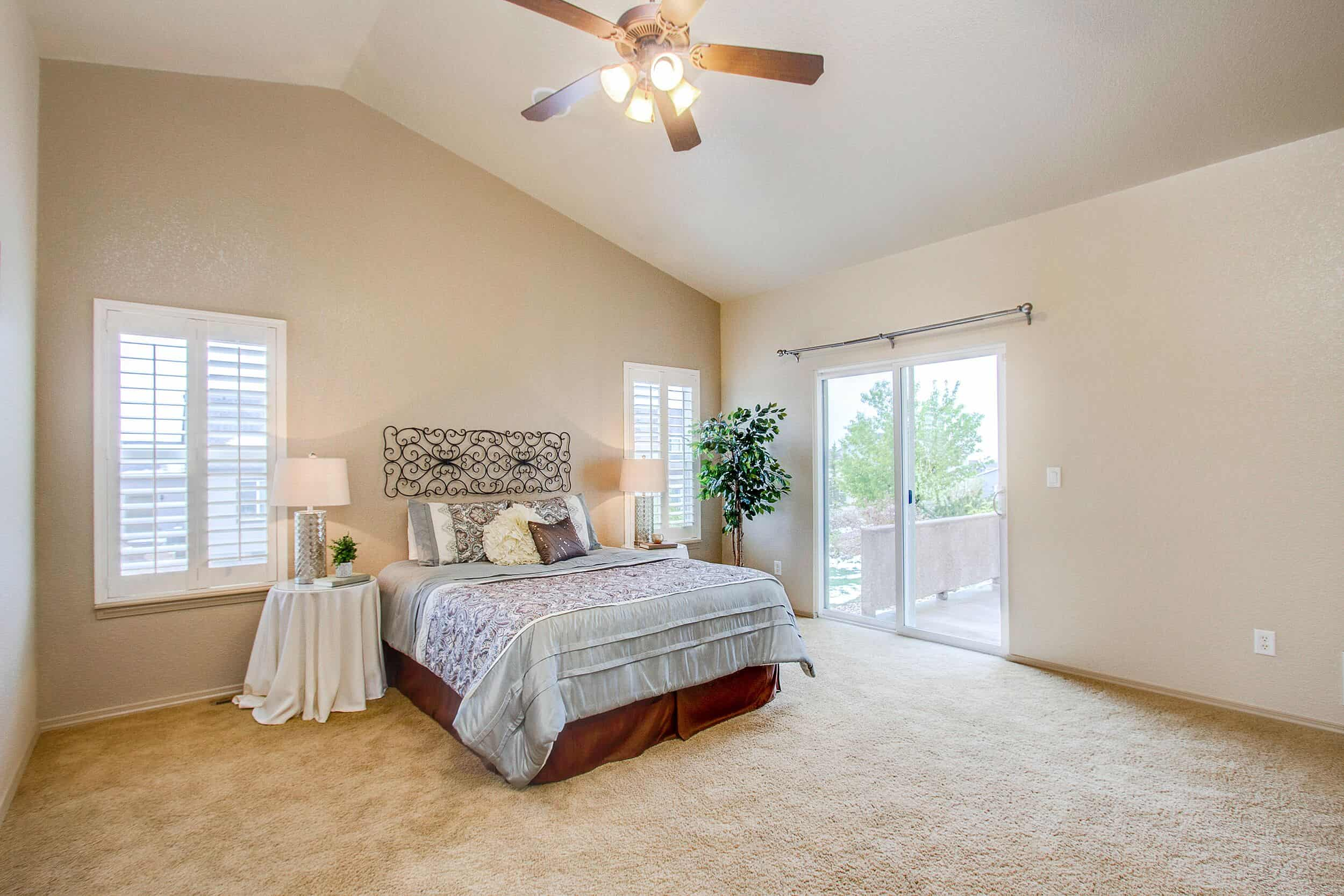 Walk-Out Master Bedroom
