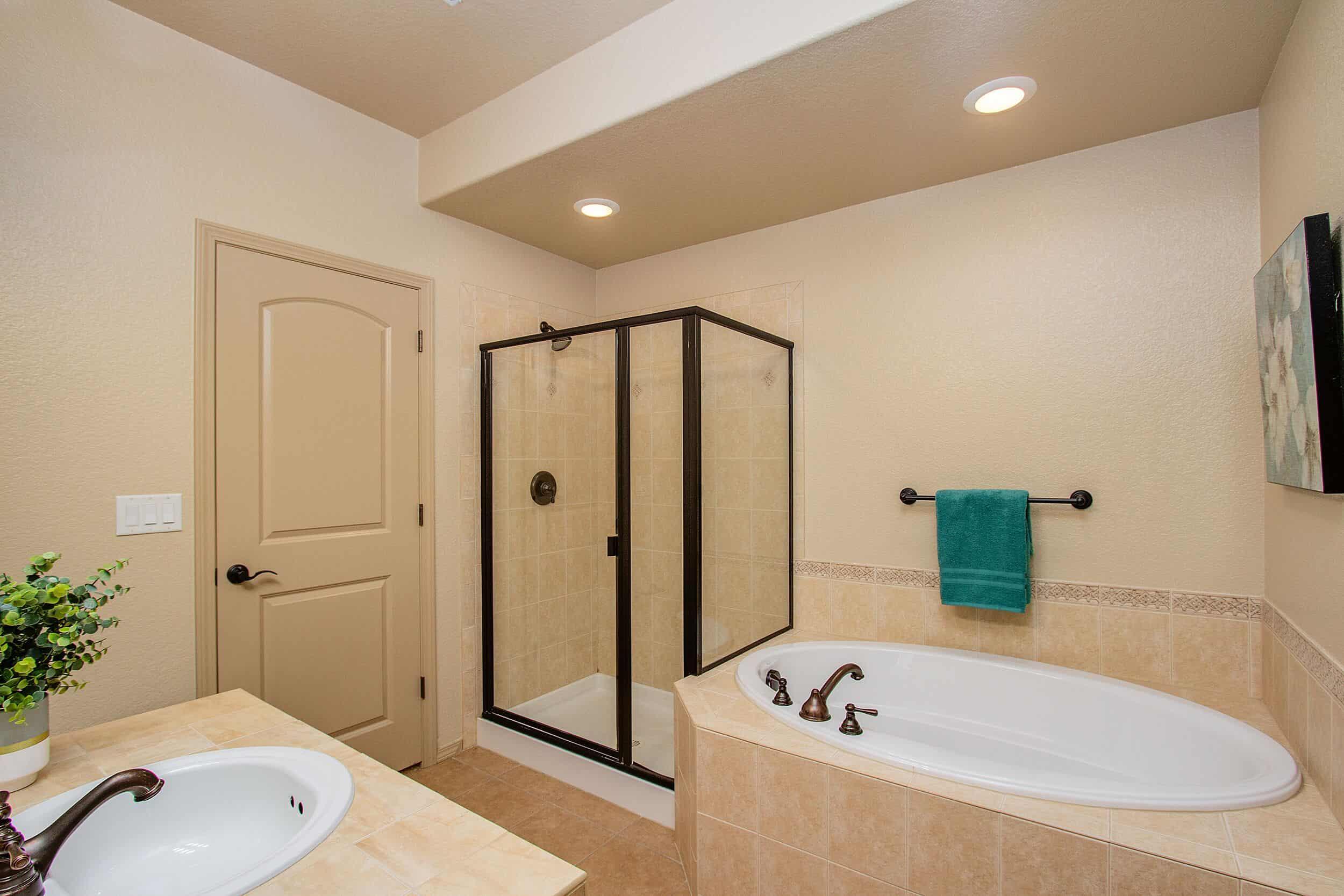 Ensuite Basement Bathroom