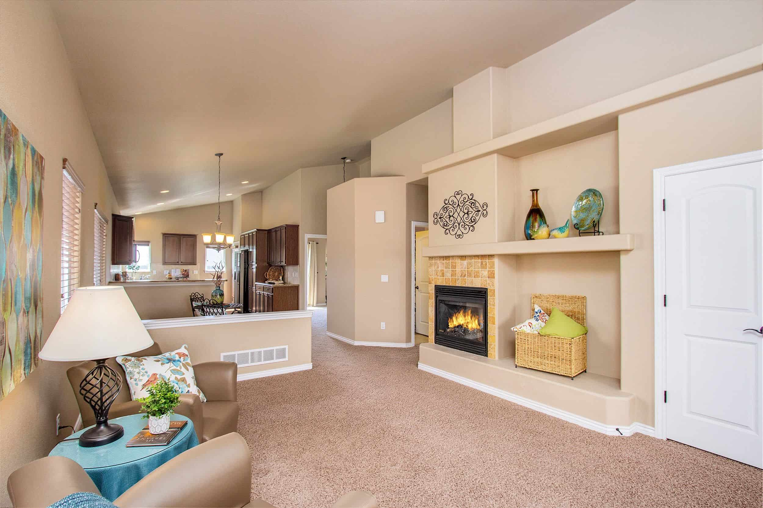 Great Room with Gas-Log Fireplace