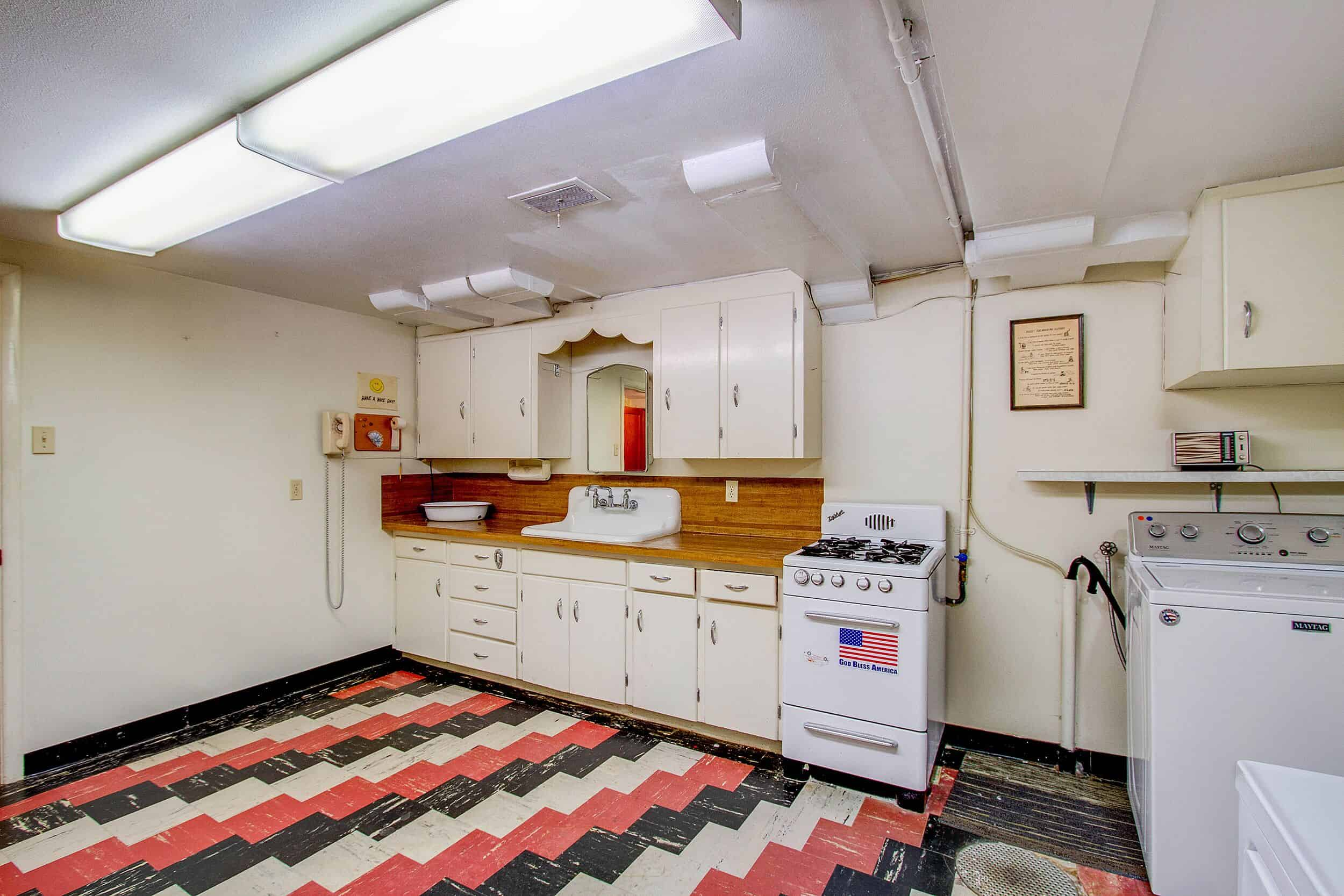 Laundry Room and Second Kitchen