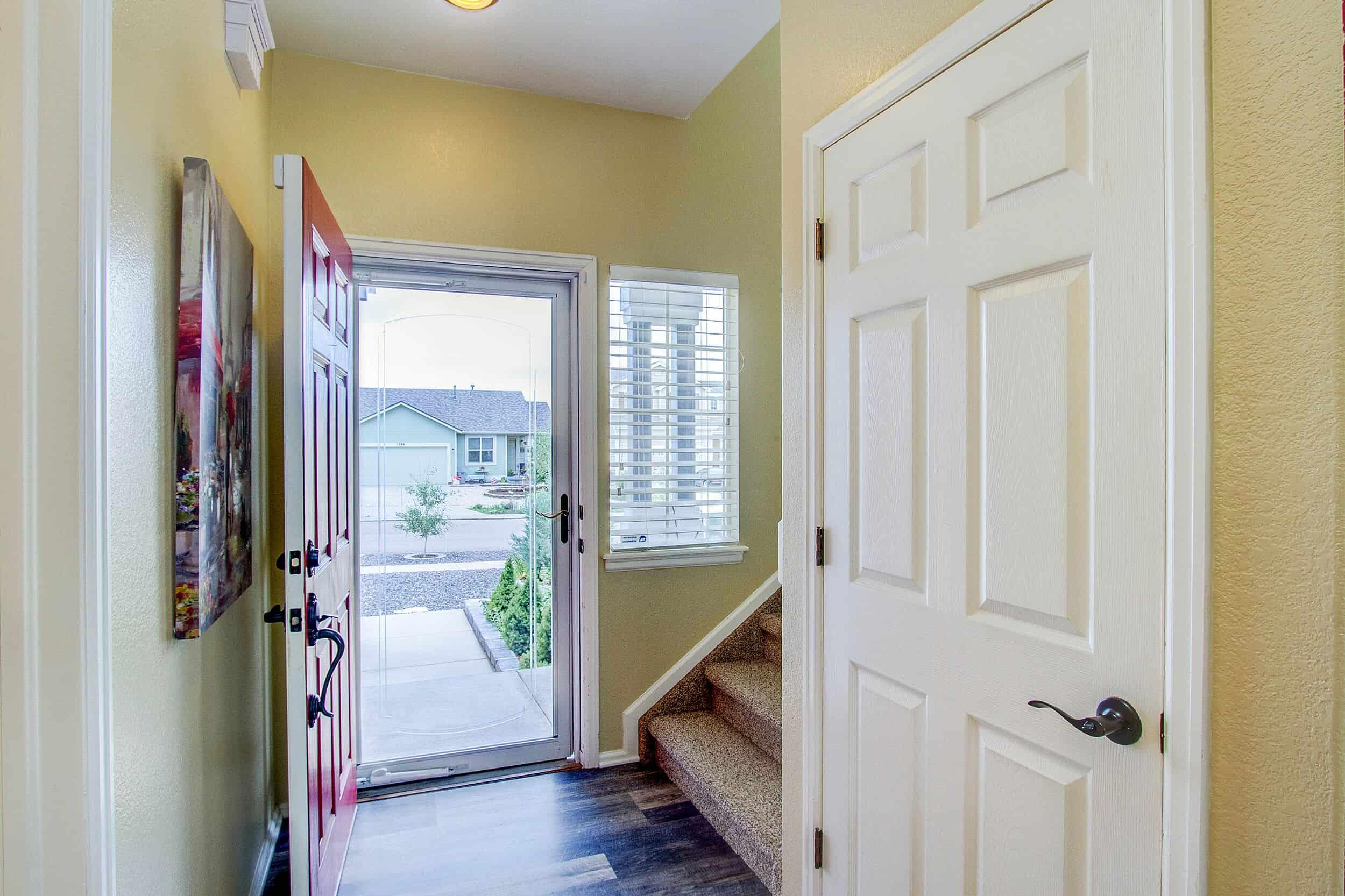 Storm Door Entry