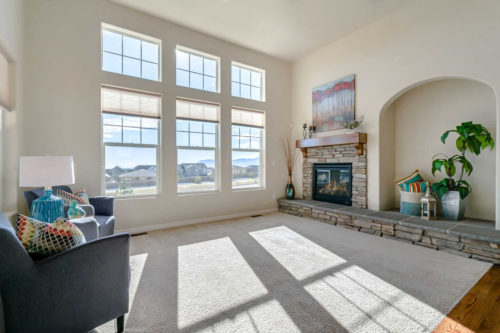 Great Room with Peak Views