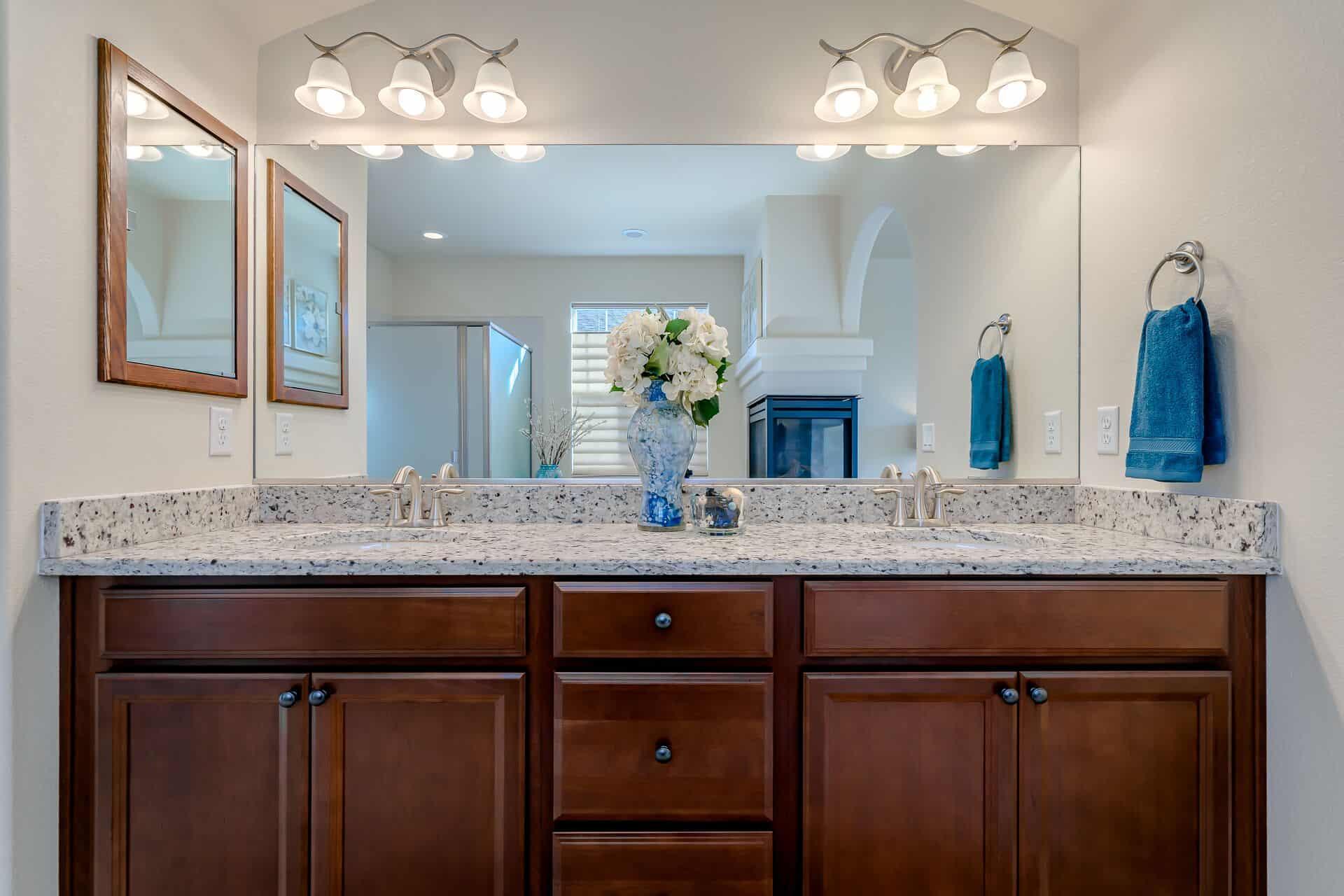 Master Dual Sink Vanity