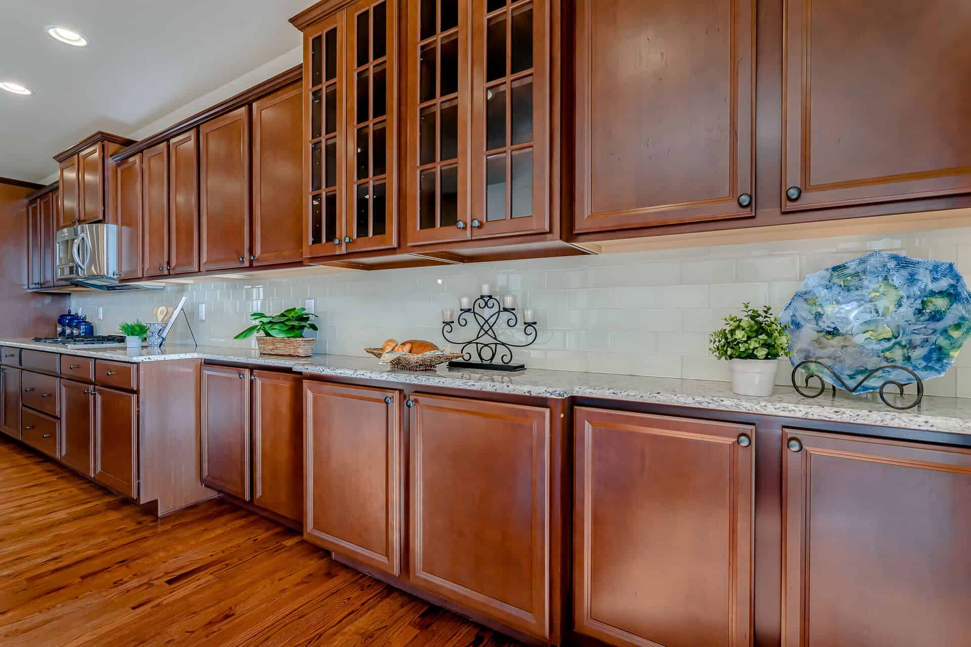 Extended Cabinets with Granite Counters