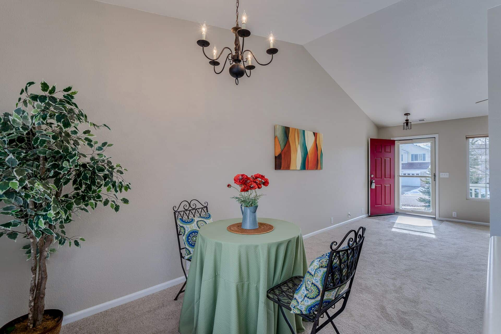 Dining Area into Entry