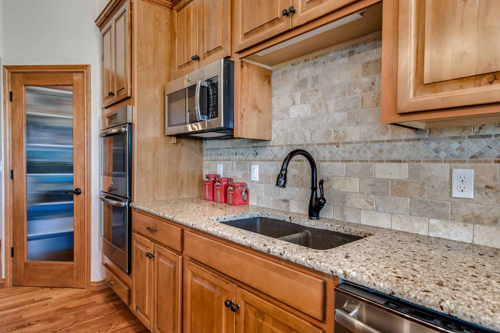 Granite Counters and Sink